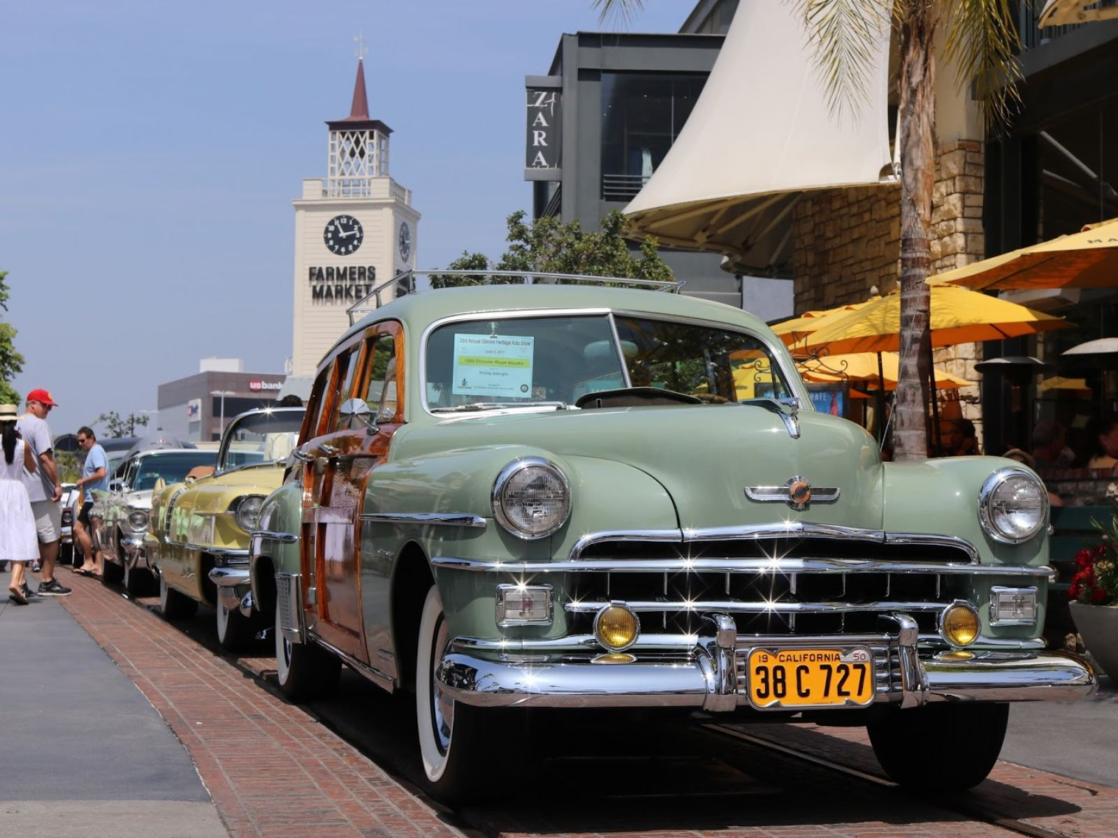 Main image for event titled Gilmore Heritage Auto Show