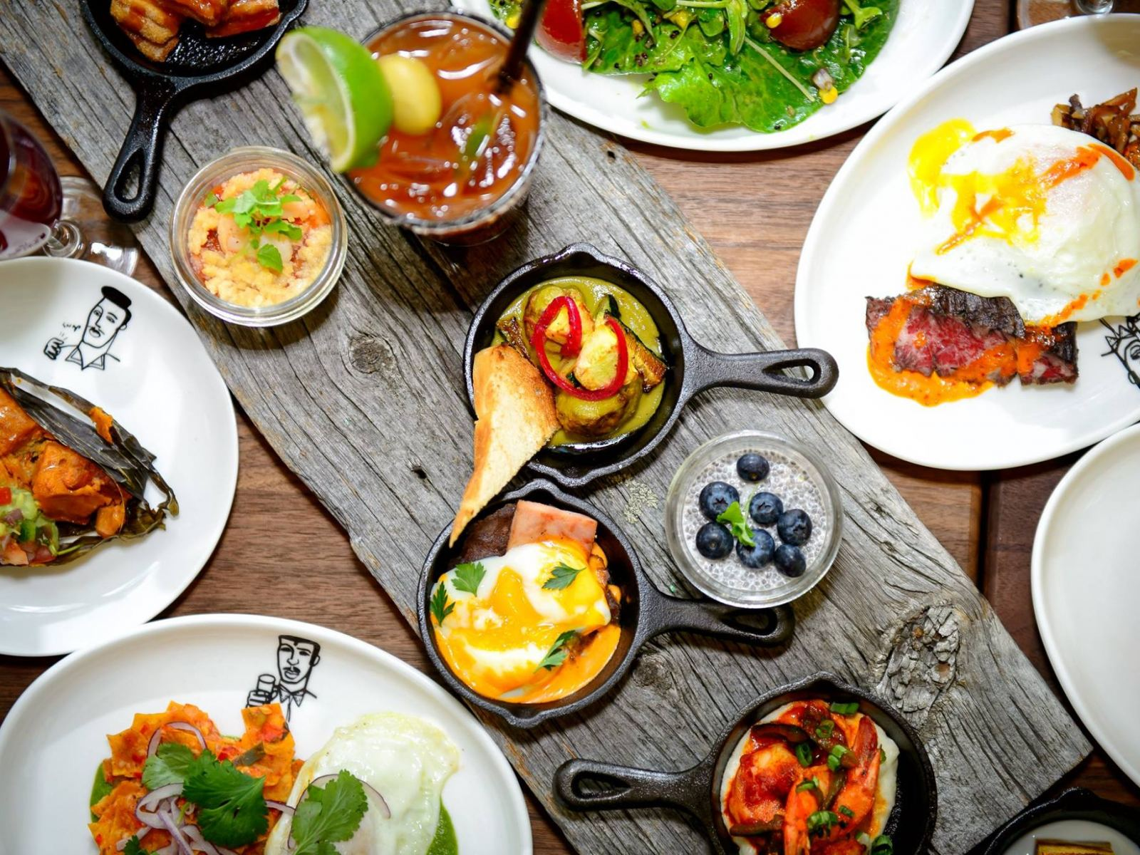 Unlimited small plates at Border Grill's Easter Brunch