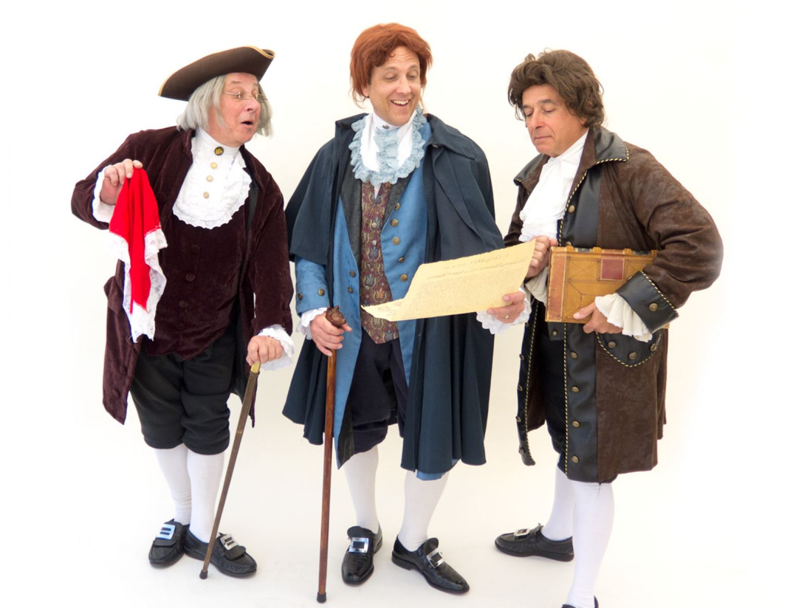 The Confounding Brothers Benjamin Franklin, Thomas Jefferson, and John Adams