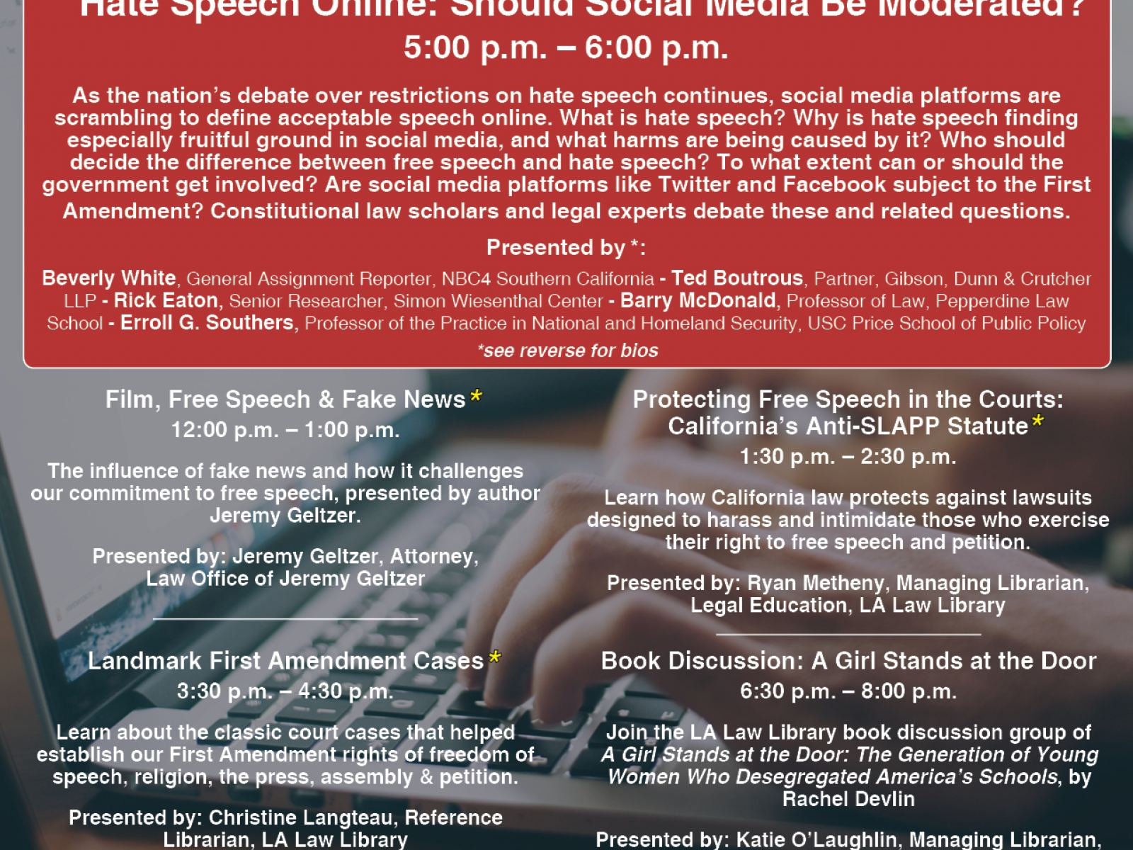 Hate Speech Online: Should Social Media Be Moderated