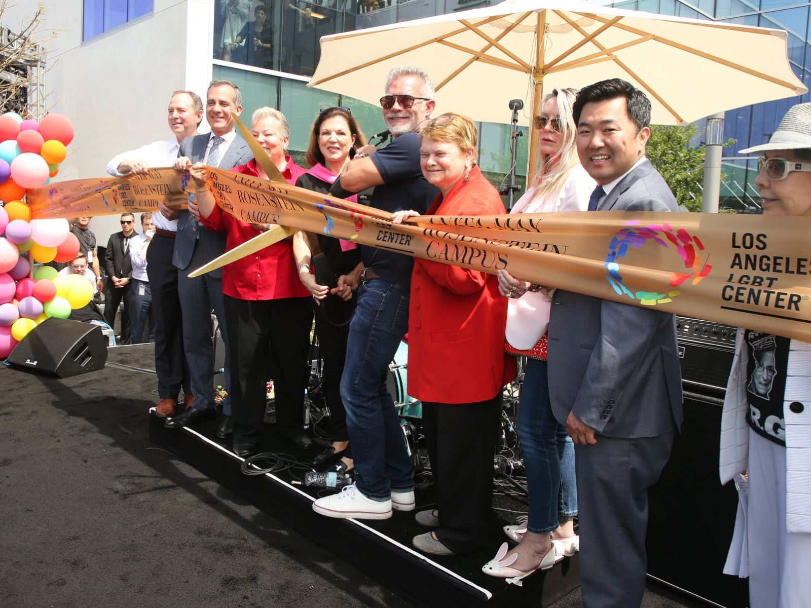 Grand Opening of the Anita May Rosenstein Campus at the Los Angeles LGBT Center