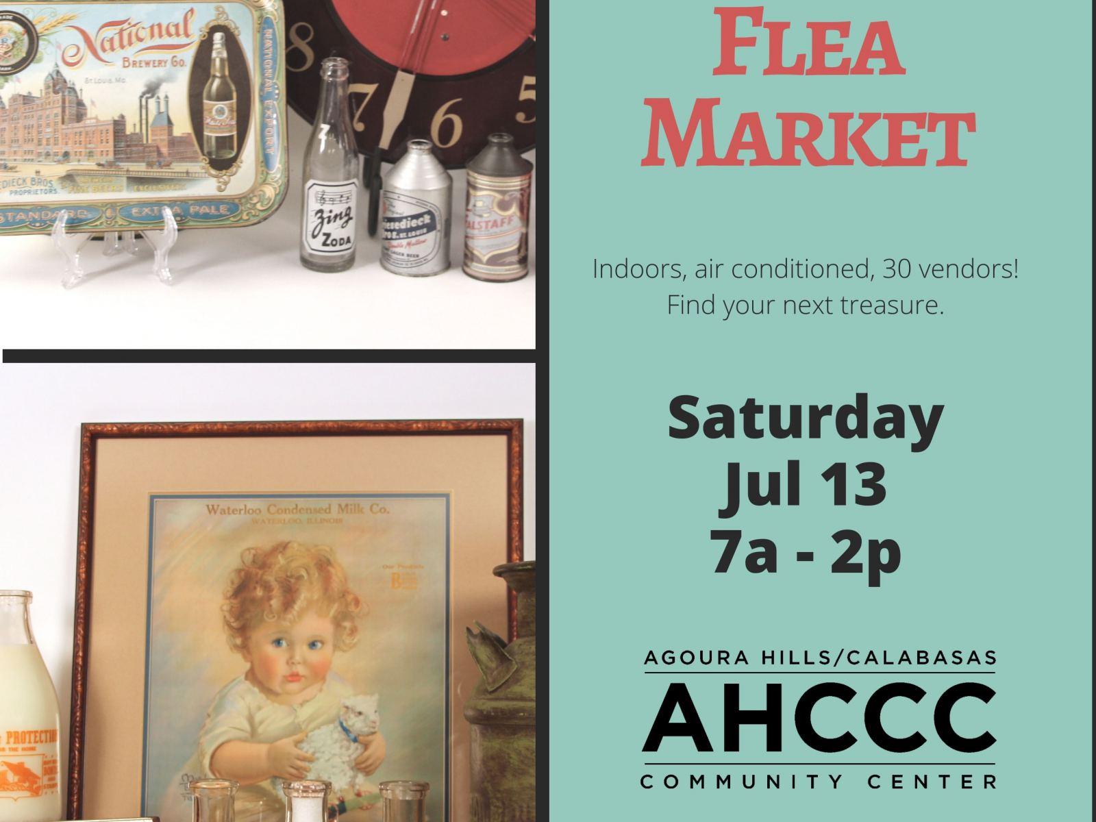 Community Flea Market, 7/13 - still accepting vendors!