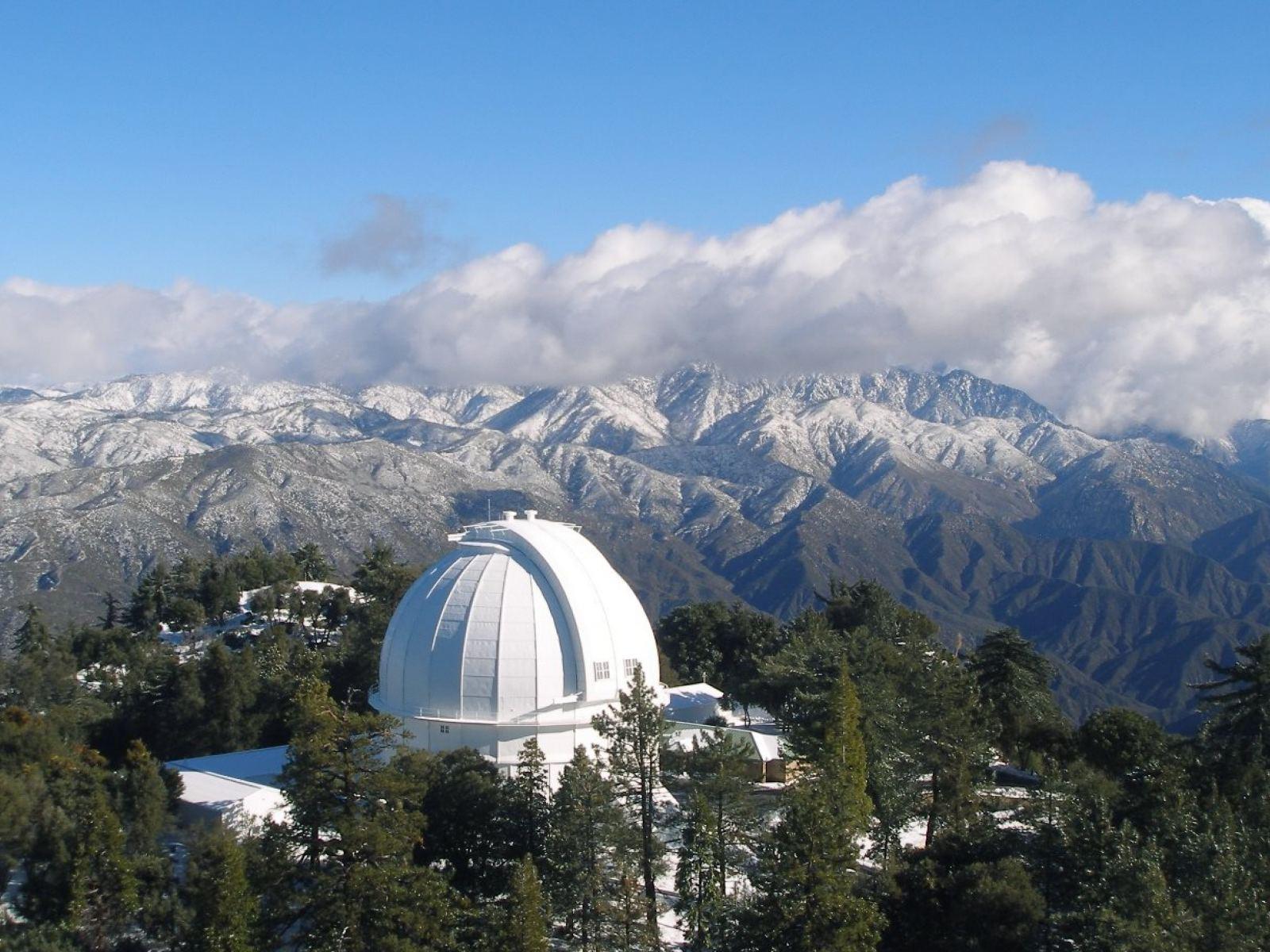 Mount Wilson Observatory 100-inch telescope