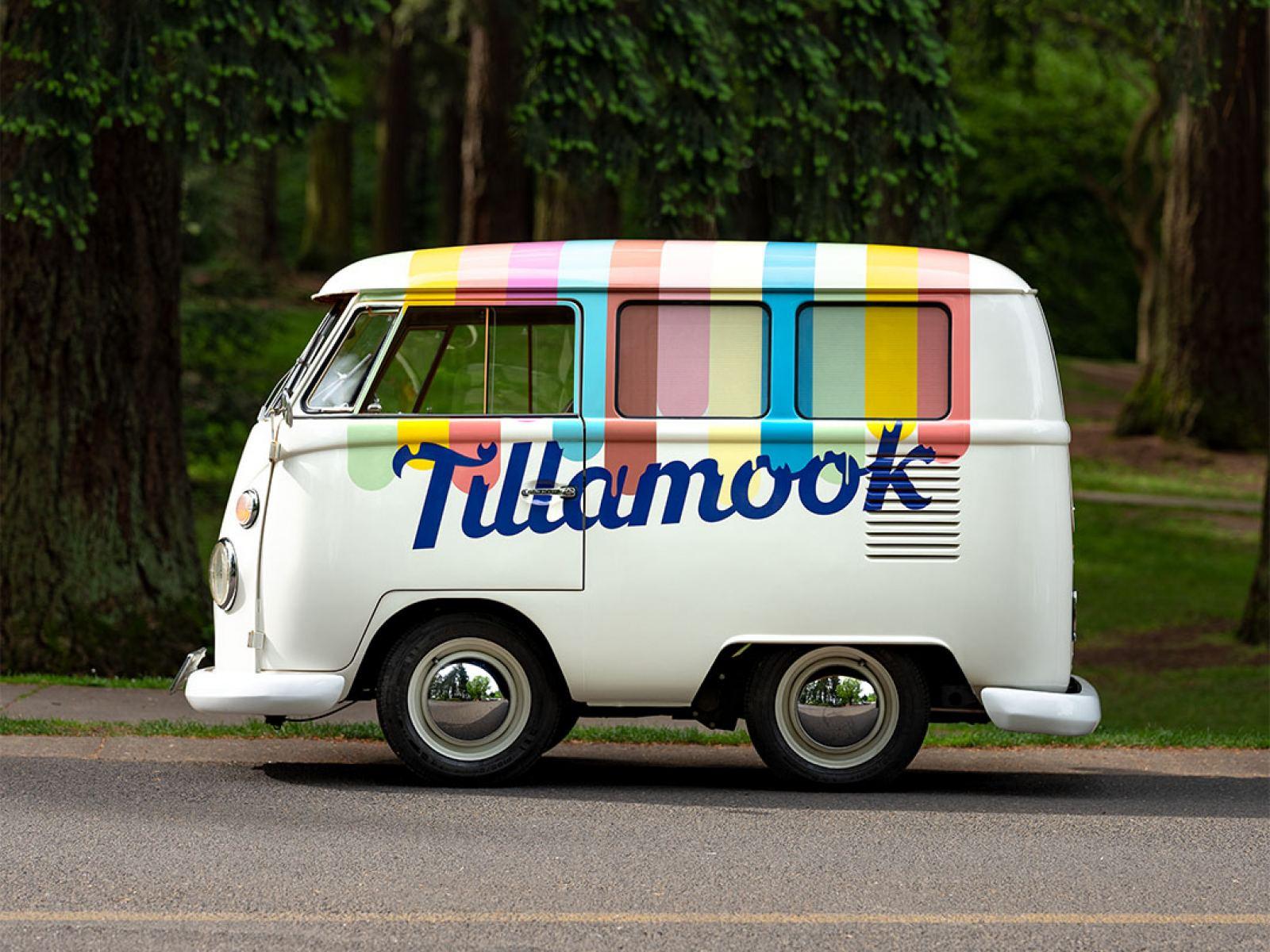 tillamook yum bus ice cream