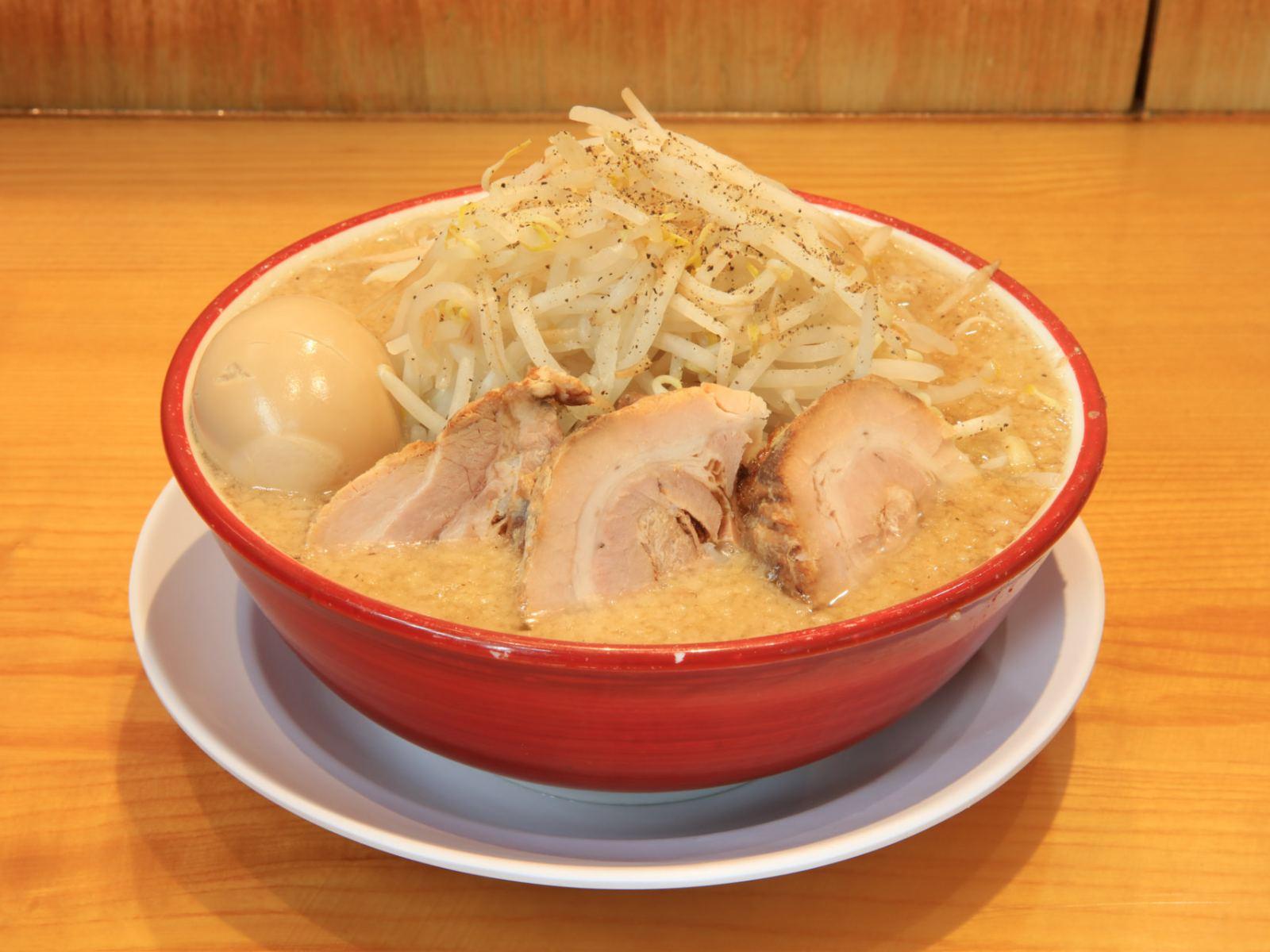 Ramen with Char Siu & Seasoned Soft Boiled Egg at Tsujita LA Annex
