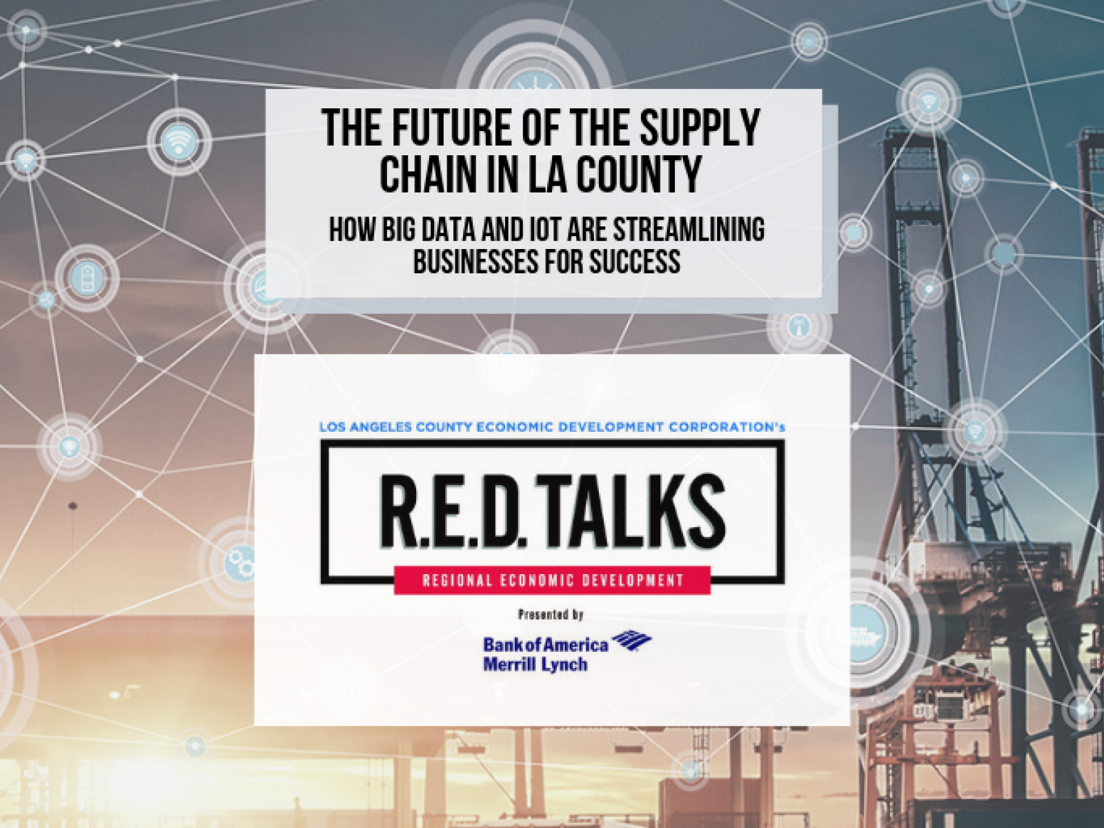 Head from industry experts and network over continental breakfast, May 21st, 9:00AM at Cross Campus El Segundo