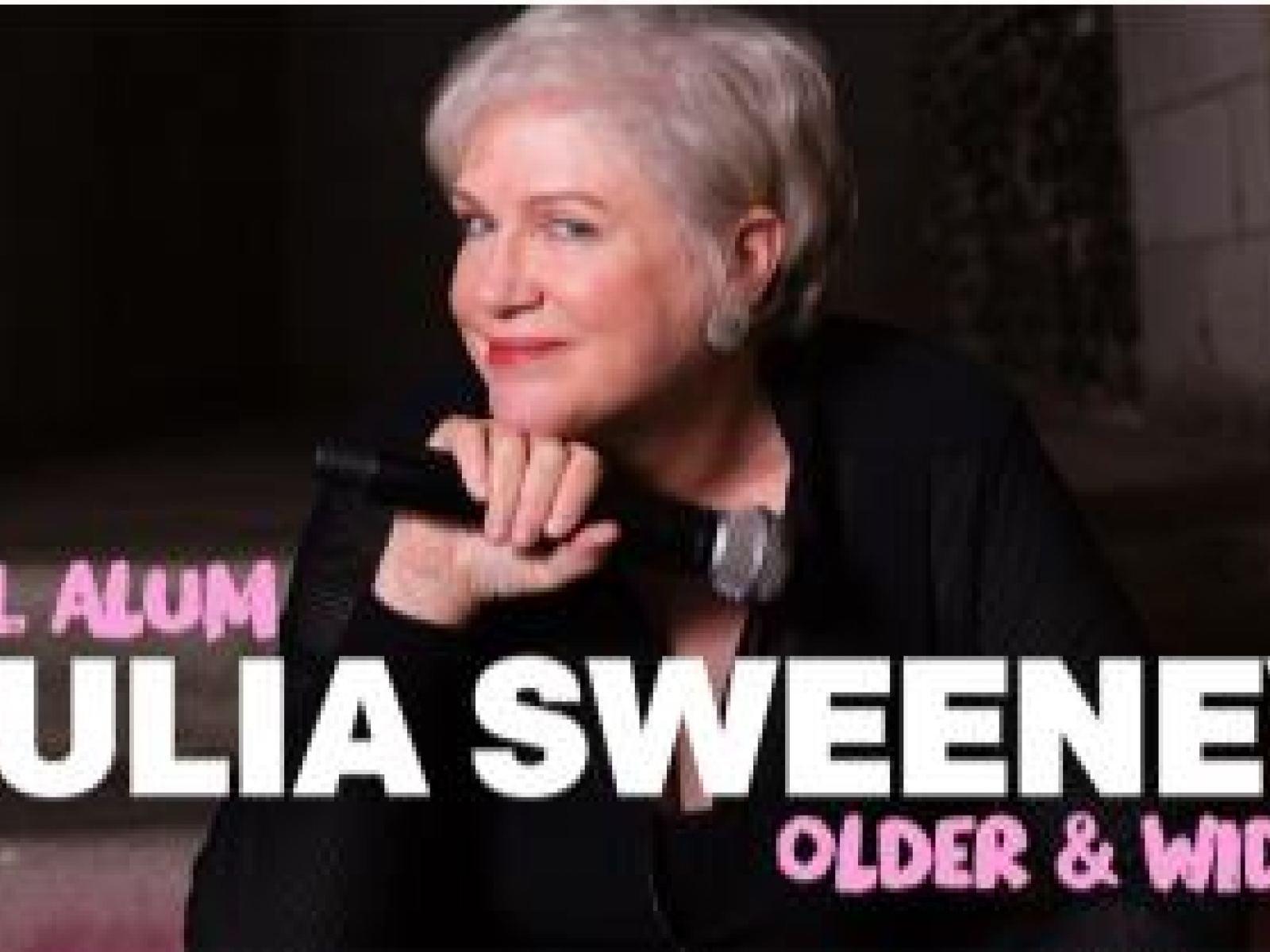 Main image for event titled Julia Sweeney: Older & Wider