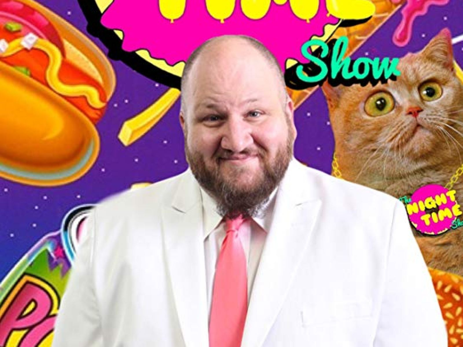 The Night Time Show - Live Talk Show with Stephen Kramer Glickman