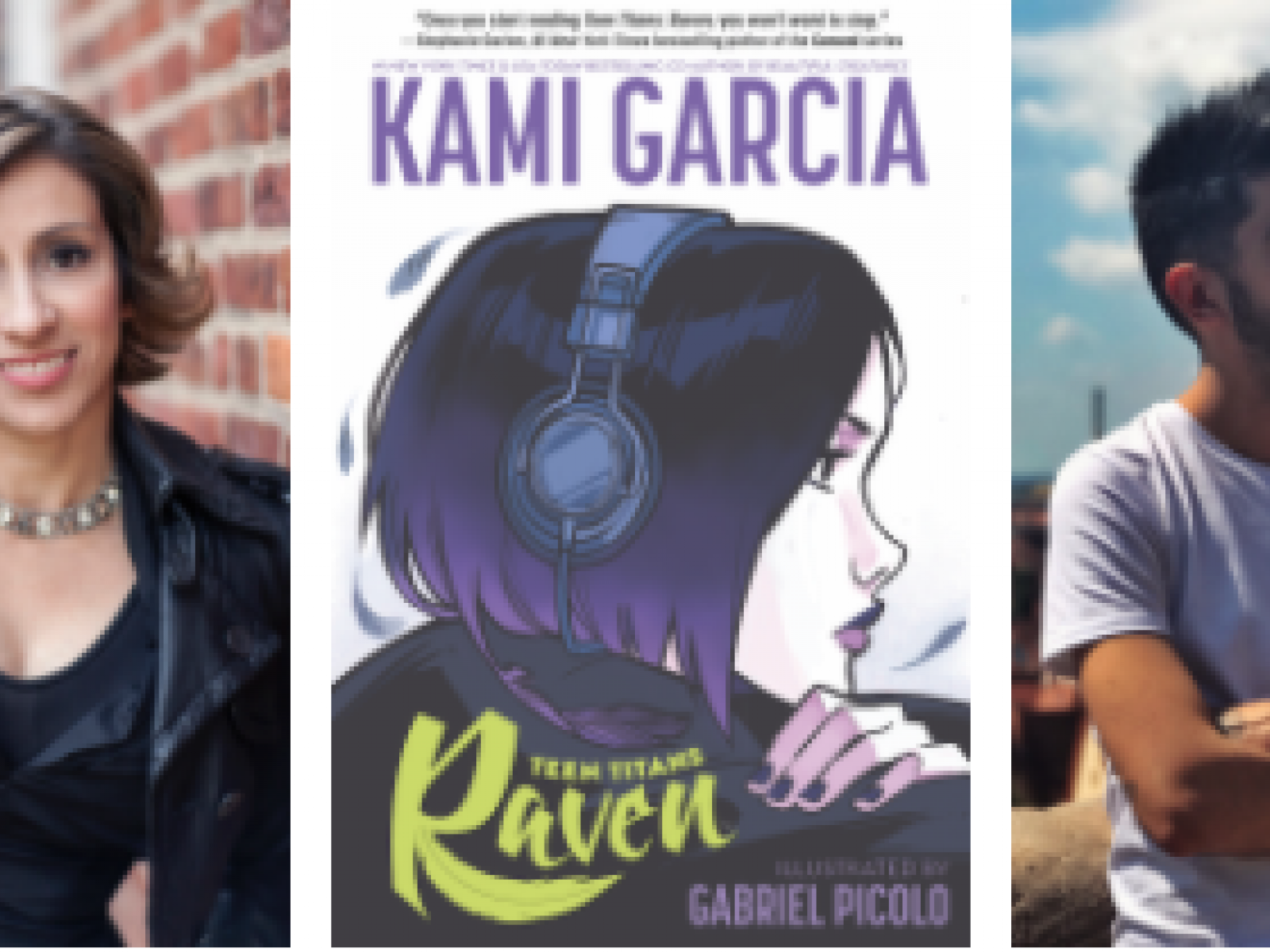 New York Times Best-Selling Author Kami Garcia & Instagram Superstar Artist Gabriel Picolo Head to Los Angeles During Their 5-City Book Tour to Promote Their First DC Release, TEEN TITANS: RAVEN