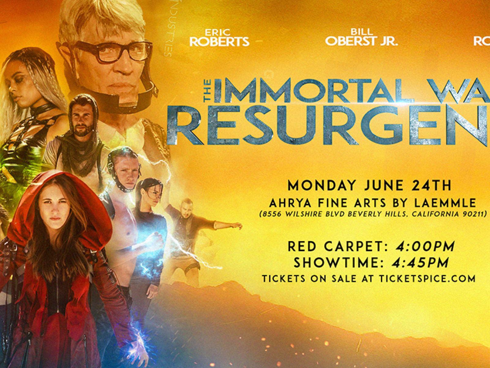 The Immortal Wars 2 - Los Angeles Premiere