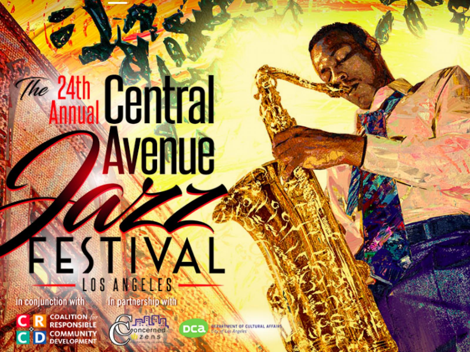 Central Avenue Jazz Festival July 2019