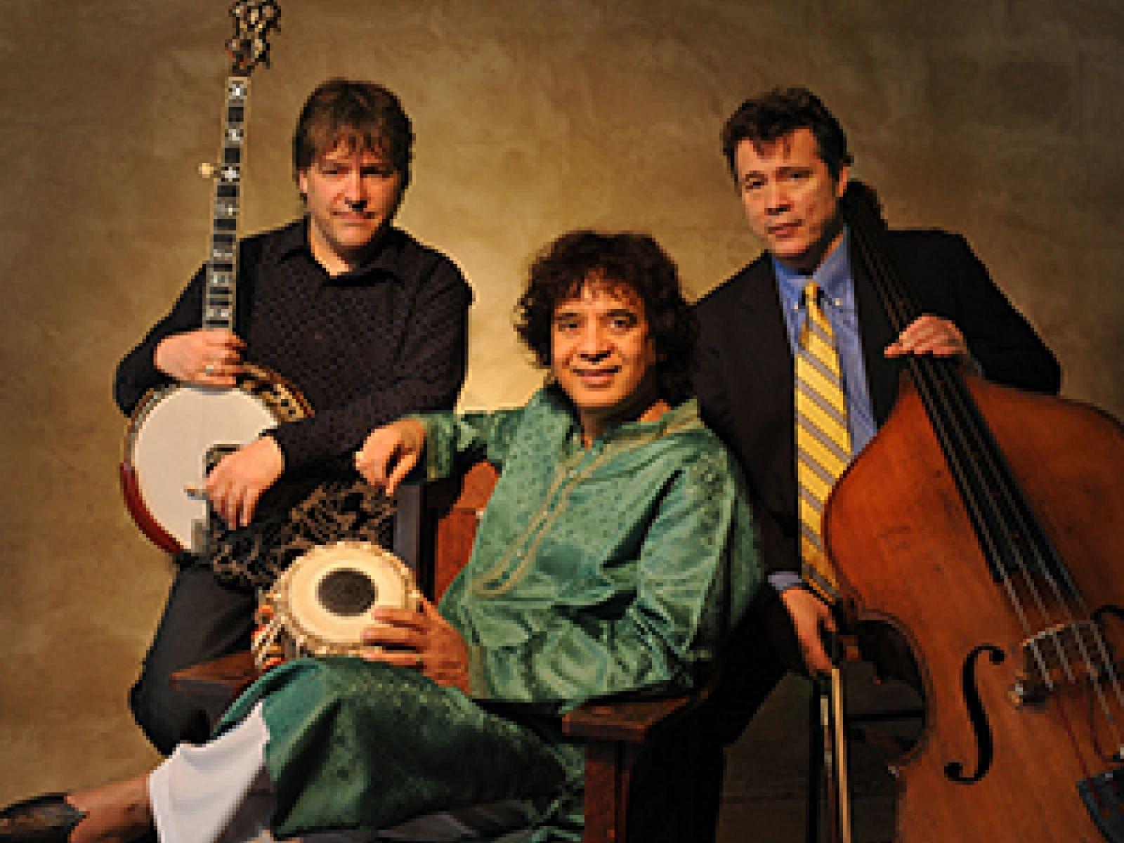 Bela Fleck, Zakir Hussain, Edgar Meyer