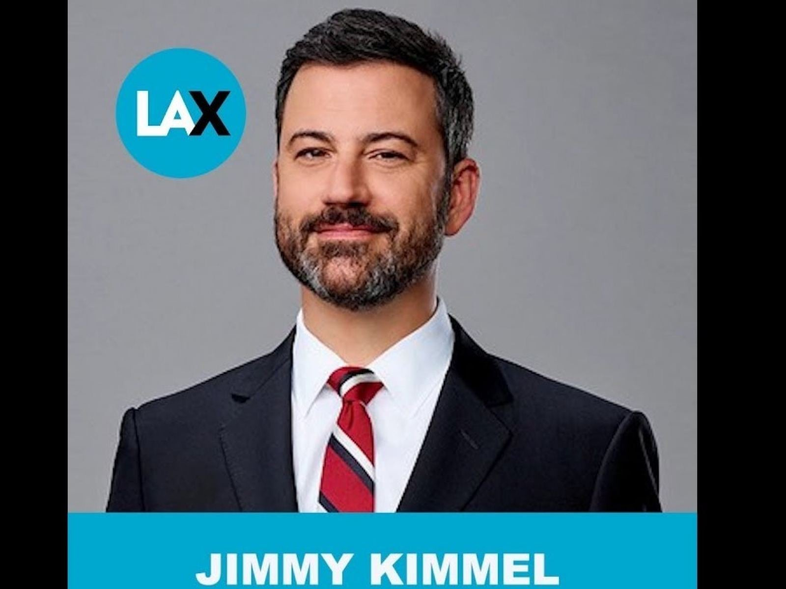 "Jimmy Kimmel is one of the ""Voices of Los Angeles"" at LAX"