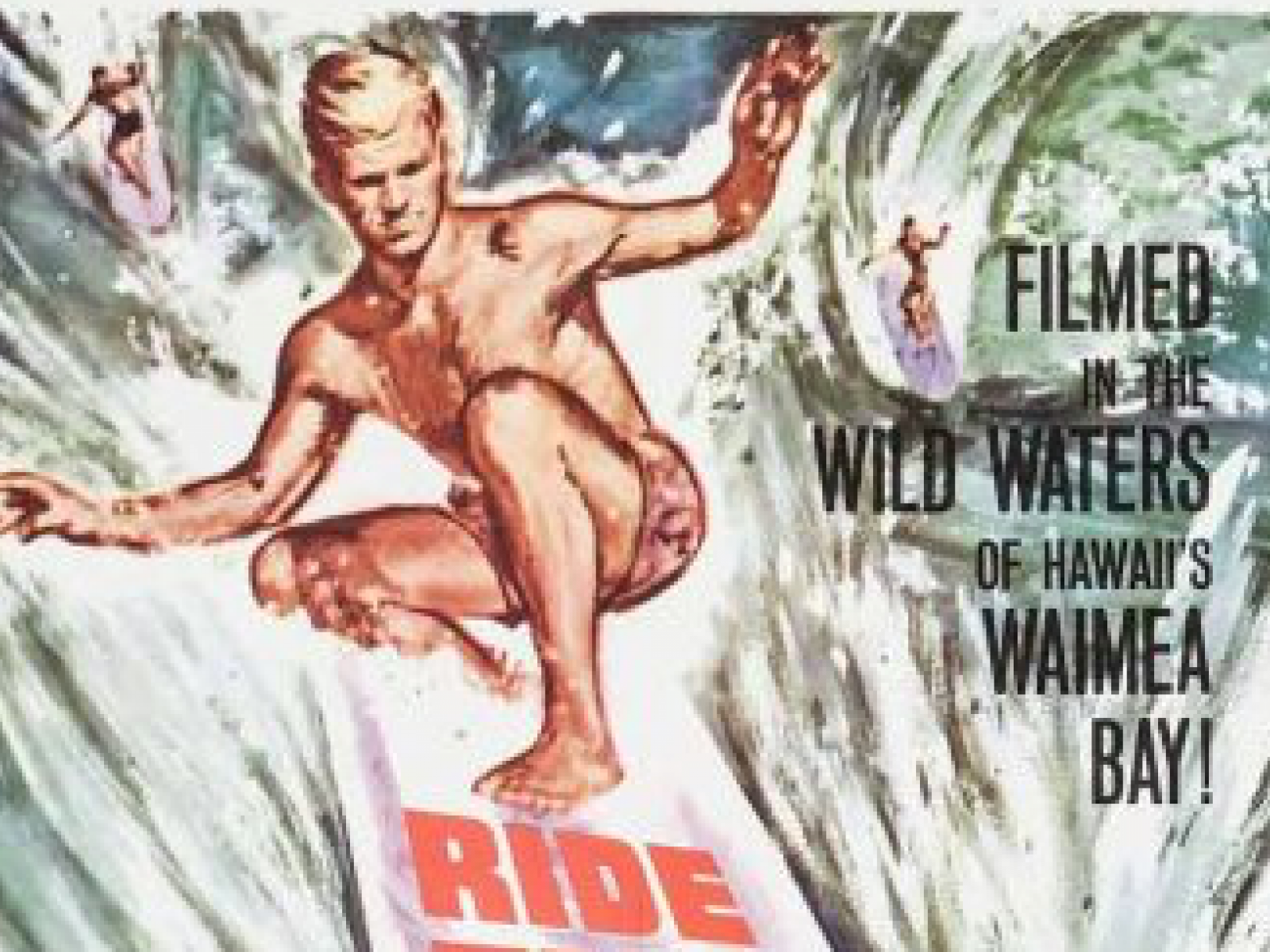 Main image for event titled RIDE THE WILD SURF
