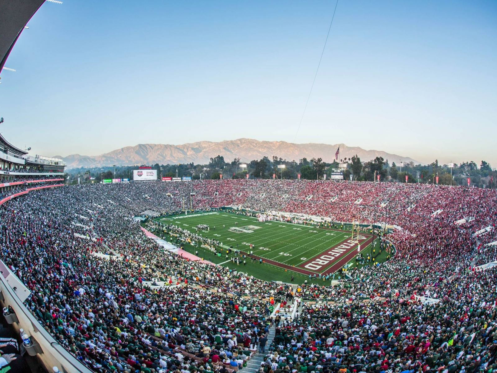 100th Rose Bowl Game Stanford vs Michigan State