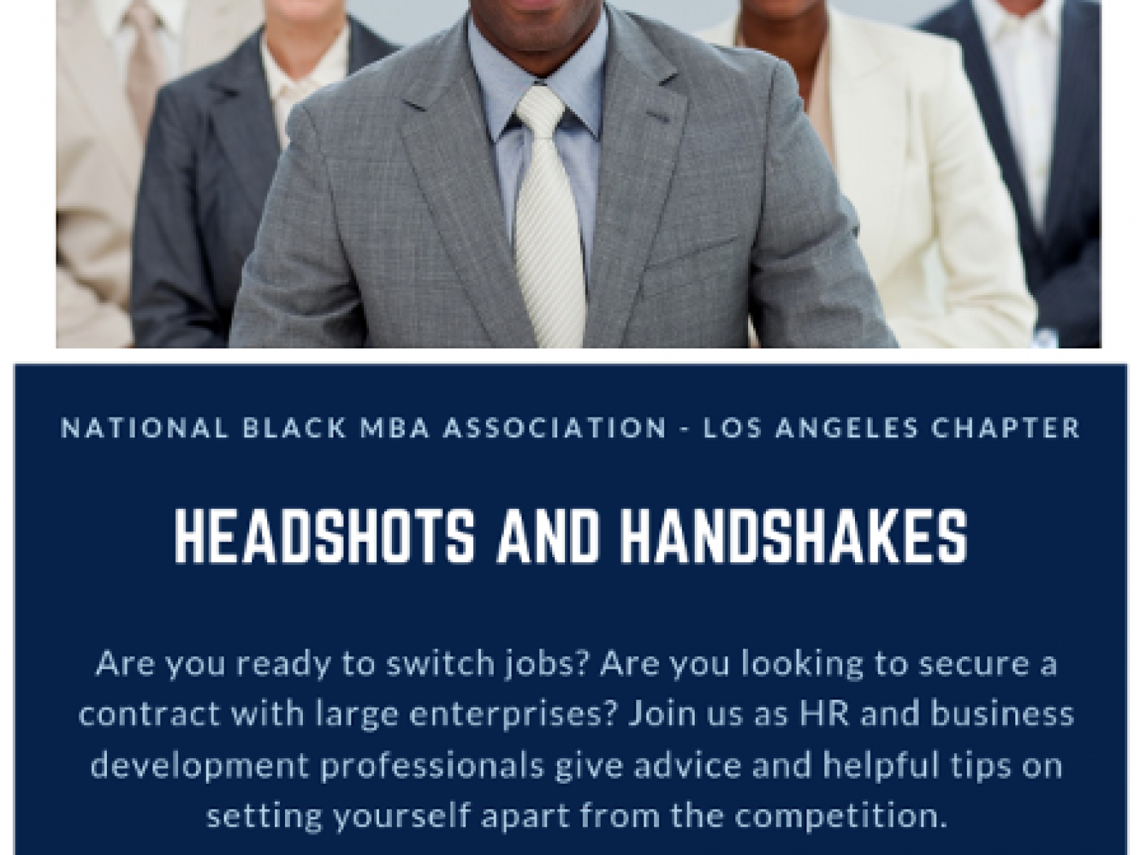 Headshots and Handshakes | Discover Los Angeles
