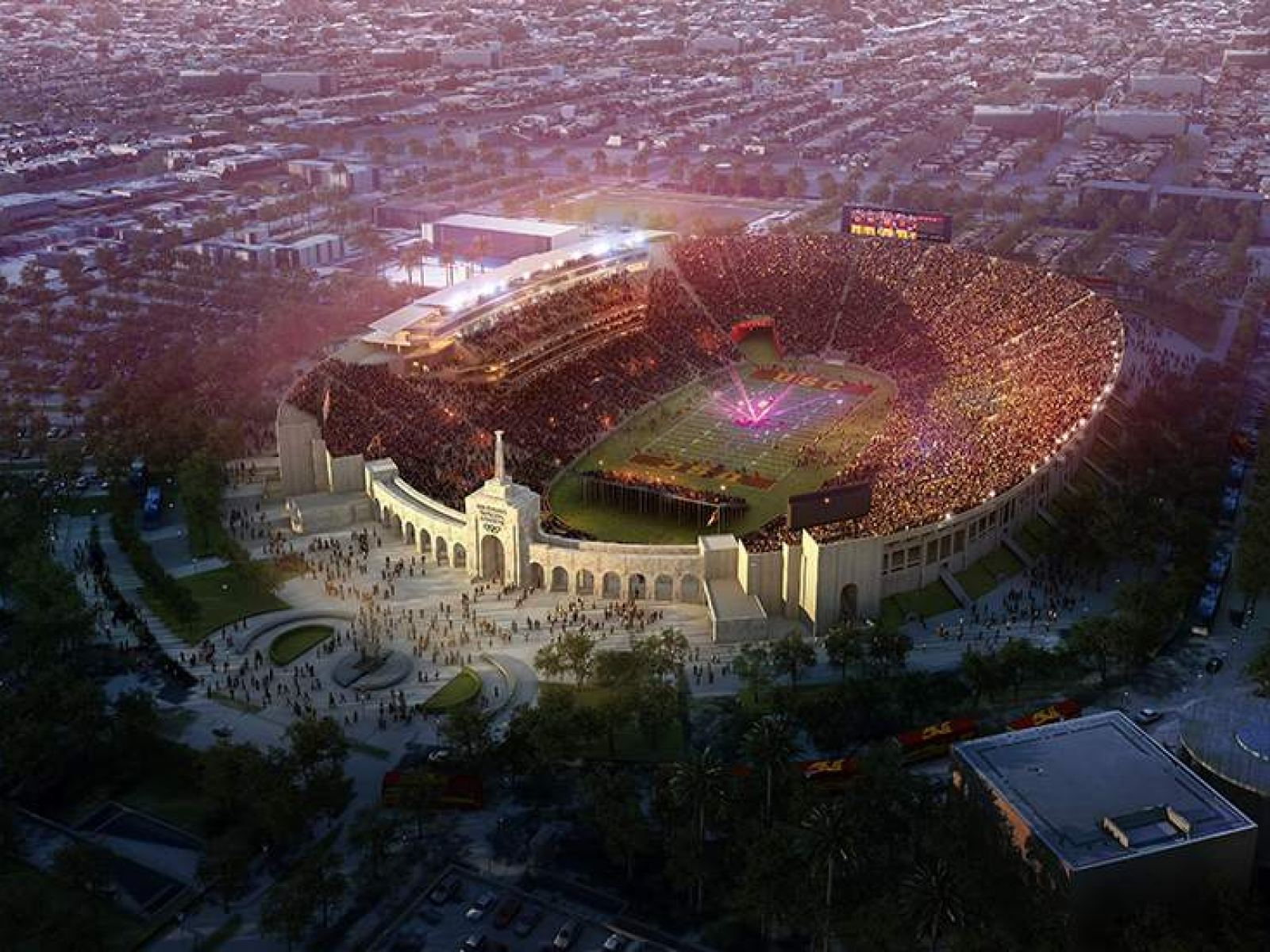 Los Angeles Memorial Coliseum The Story Of An L A Icon Discover Los Angeles
