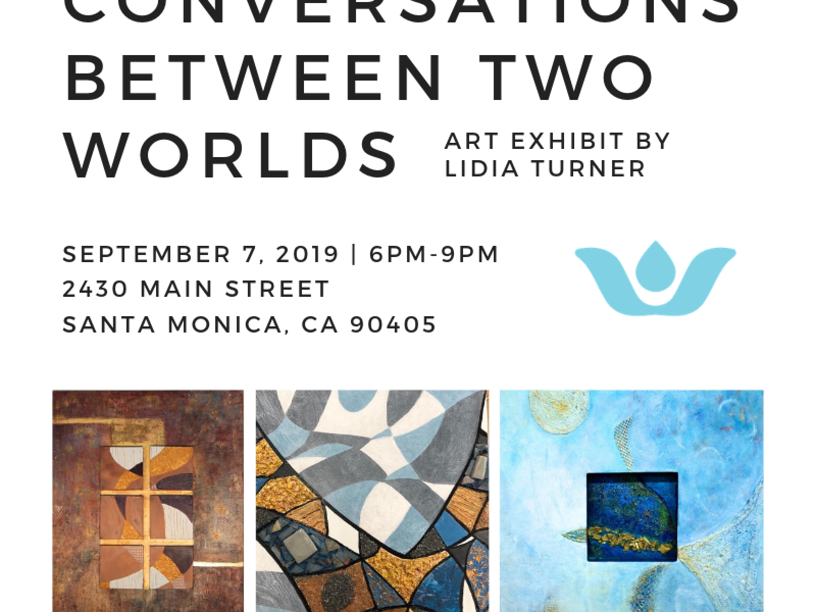 Flyer and Event Title Conversations Between Two Worlds