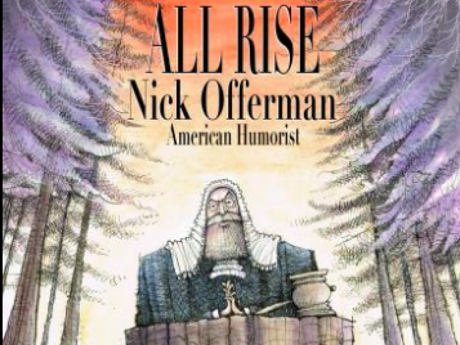 Main image for event titled Nick Offerman: All Rise