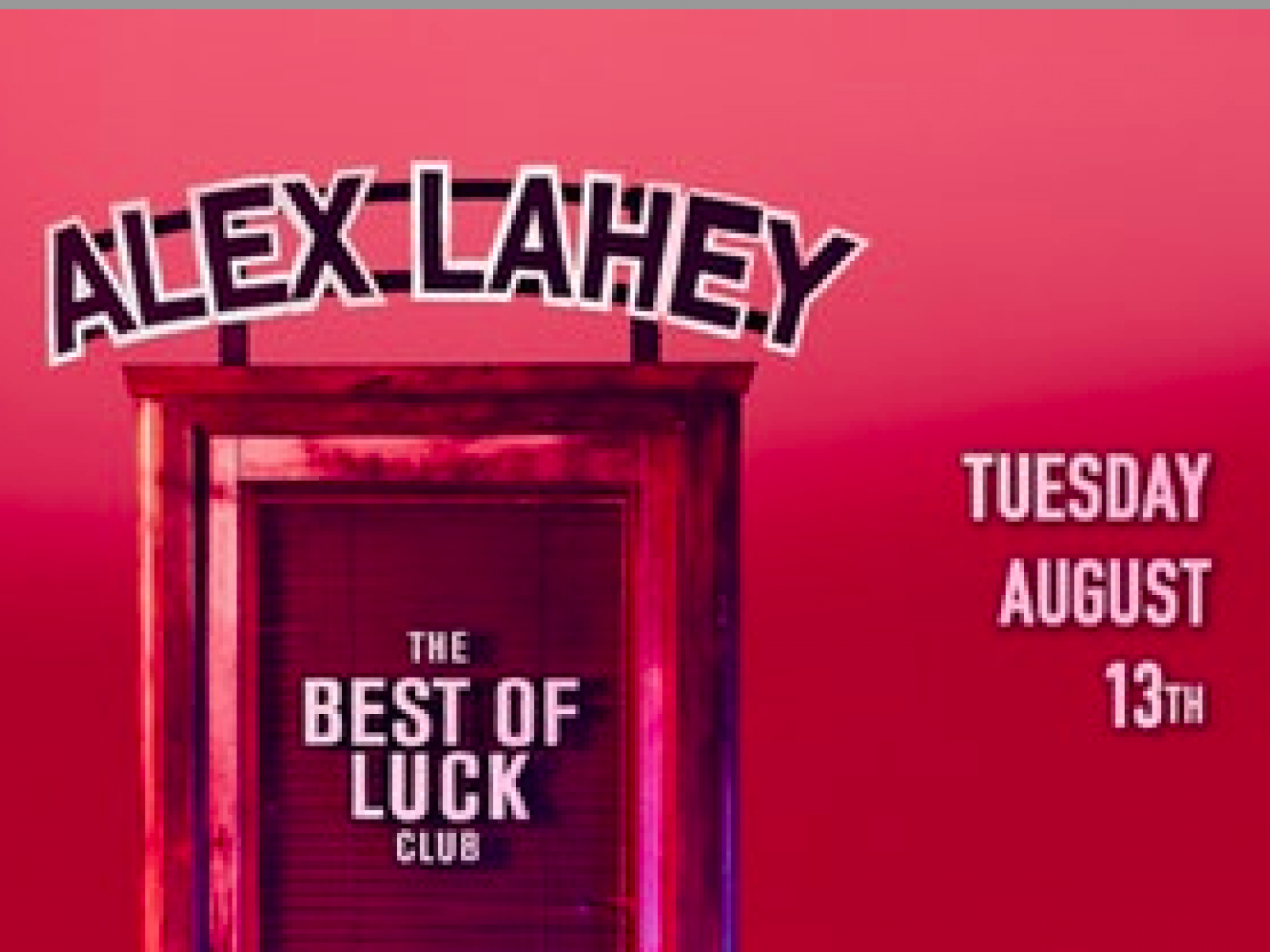 Main image for event titled Alex Lahey