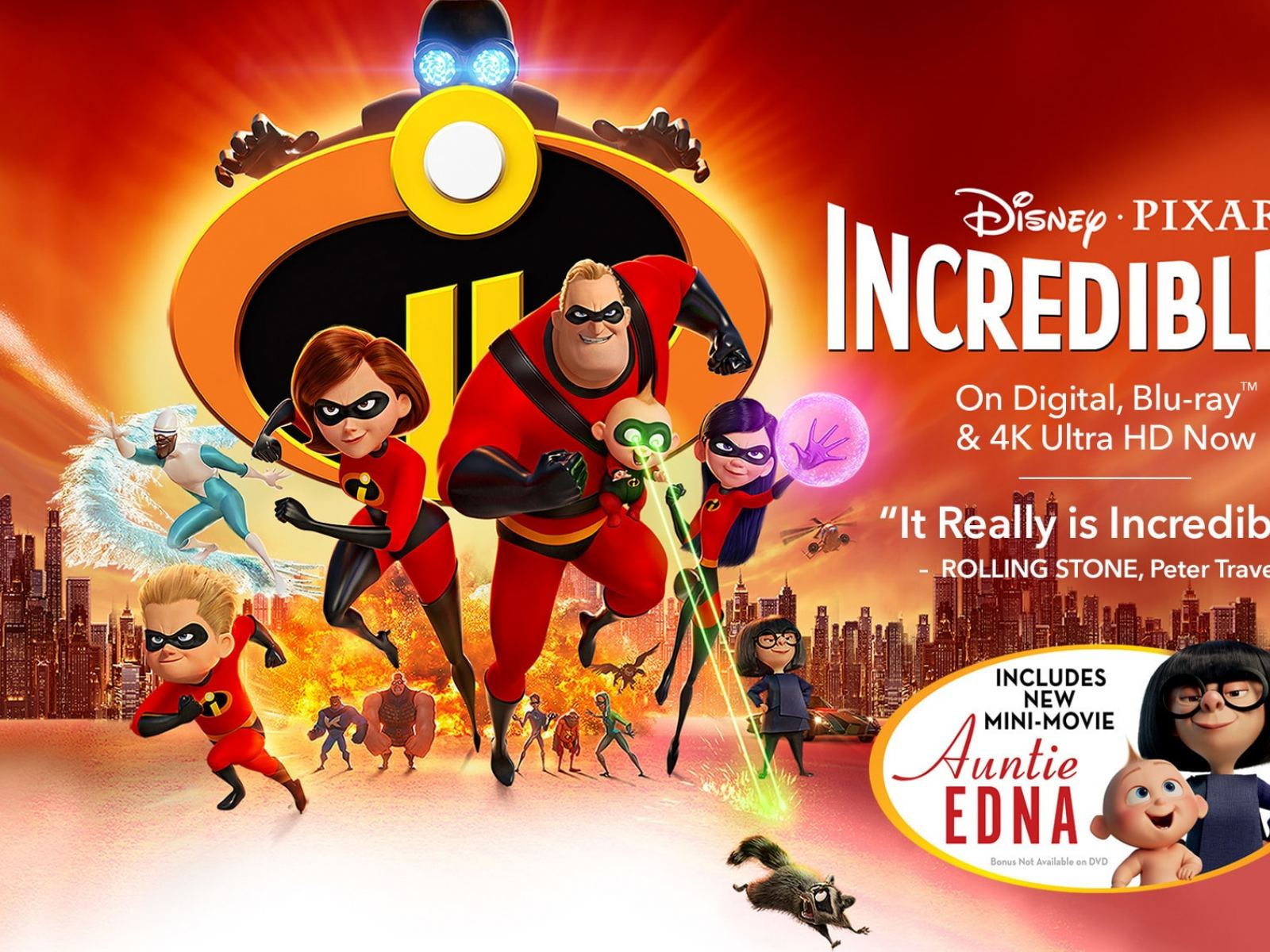 Main image for event titled Summer Movie Nights: Incredibles 2