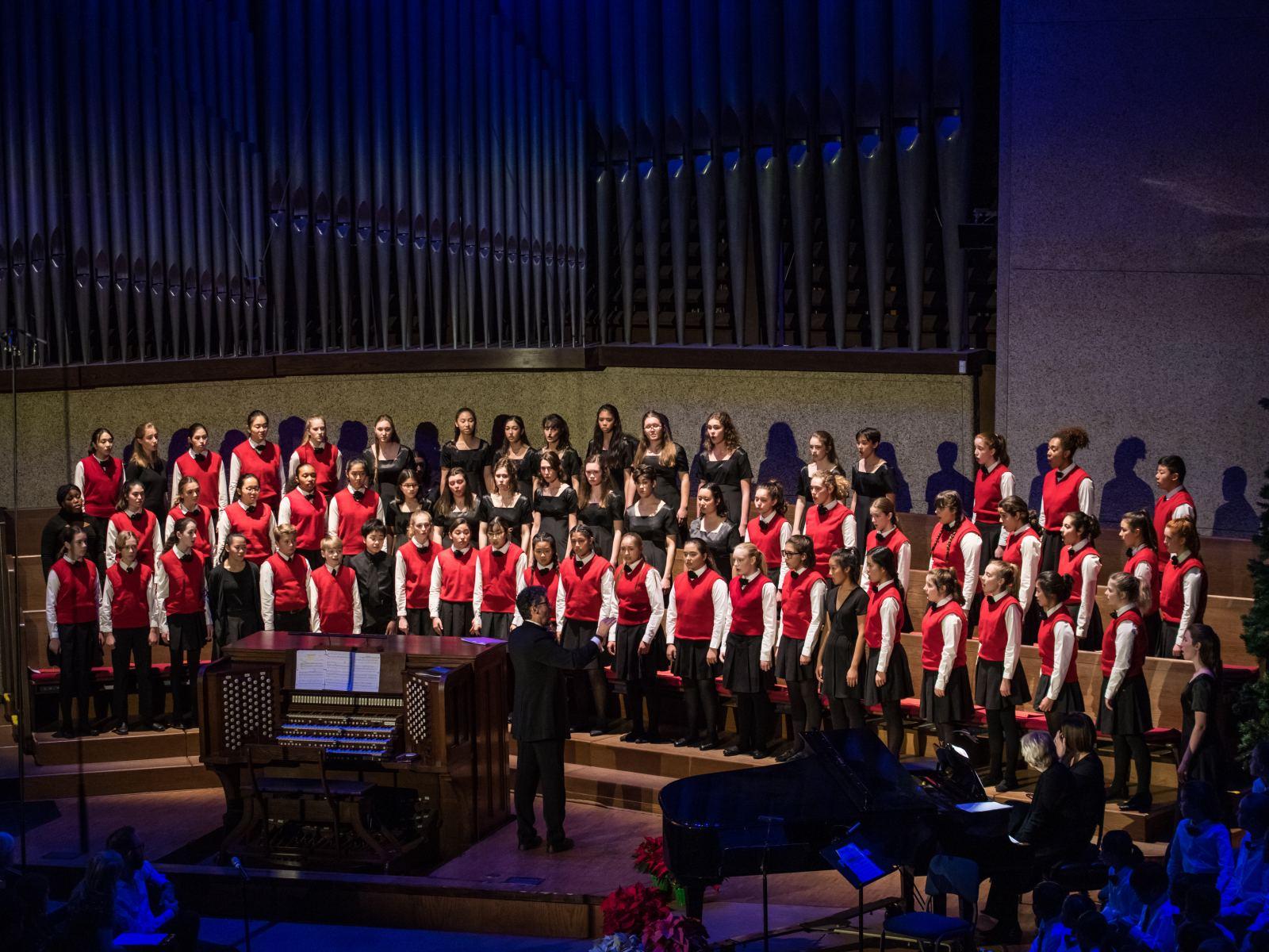 Los Angeles Children's Chorus  photographed by Jamie Pham