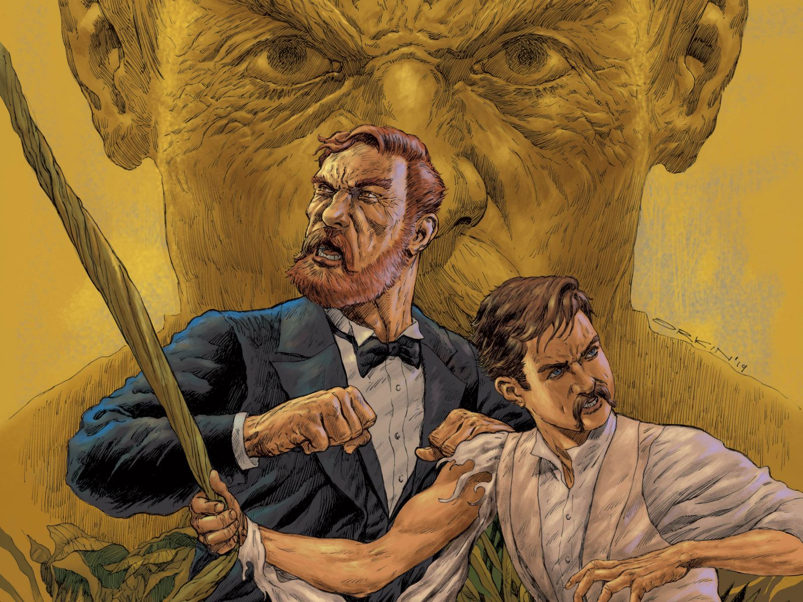 """""""Stoker & Wells: Order of the Golden Dawn"""" - Graphic Novel by Steven Peros, Art by Barry Orkin"""
