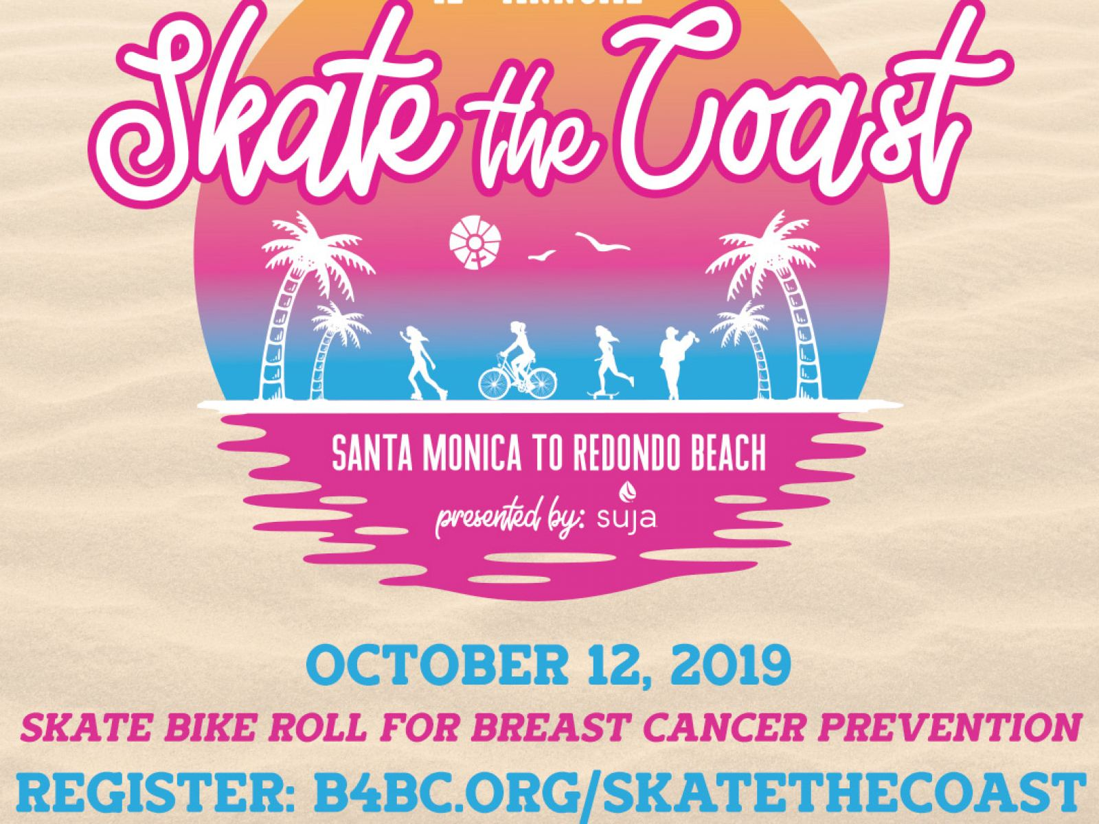 BOARDING FOR BREAST CANCER HOSTS 12th ANNUAL SKATE THE COAST EVENT FOR BREAST CANCER PREVENTION