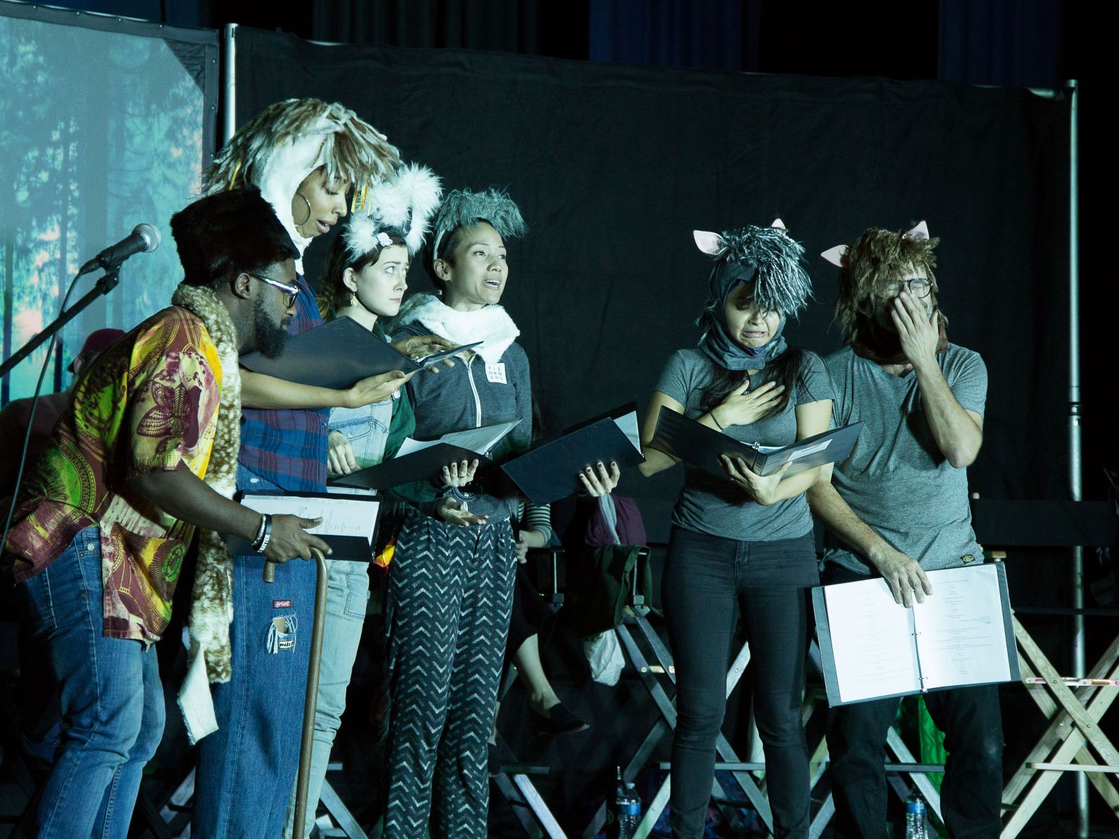 Page Play performance at Edison Middle School in 2018