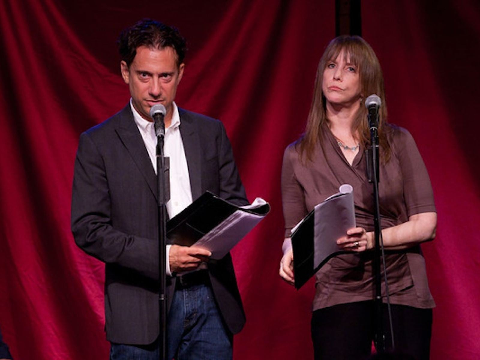 Depicted: Eugene Pack, Laraine Newman. Photo credit: Andrew Werner.