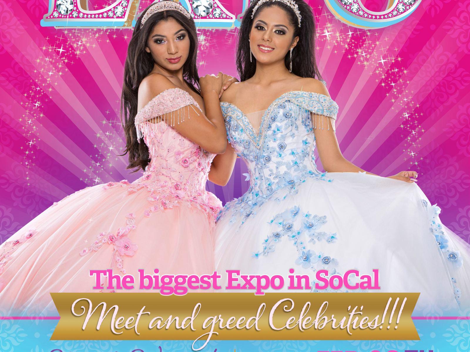 Los Angeles Quinceanera Expo Feb 23, 2020 at Pomona Fairplex