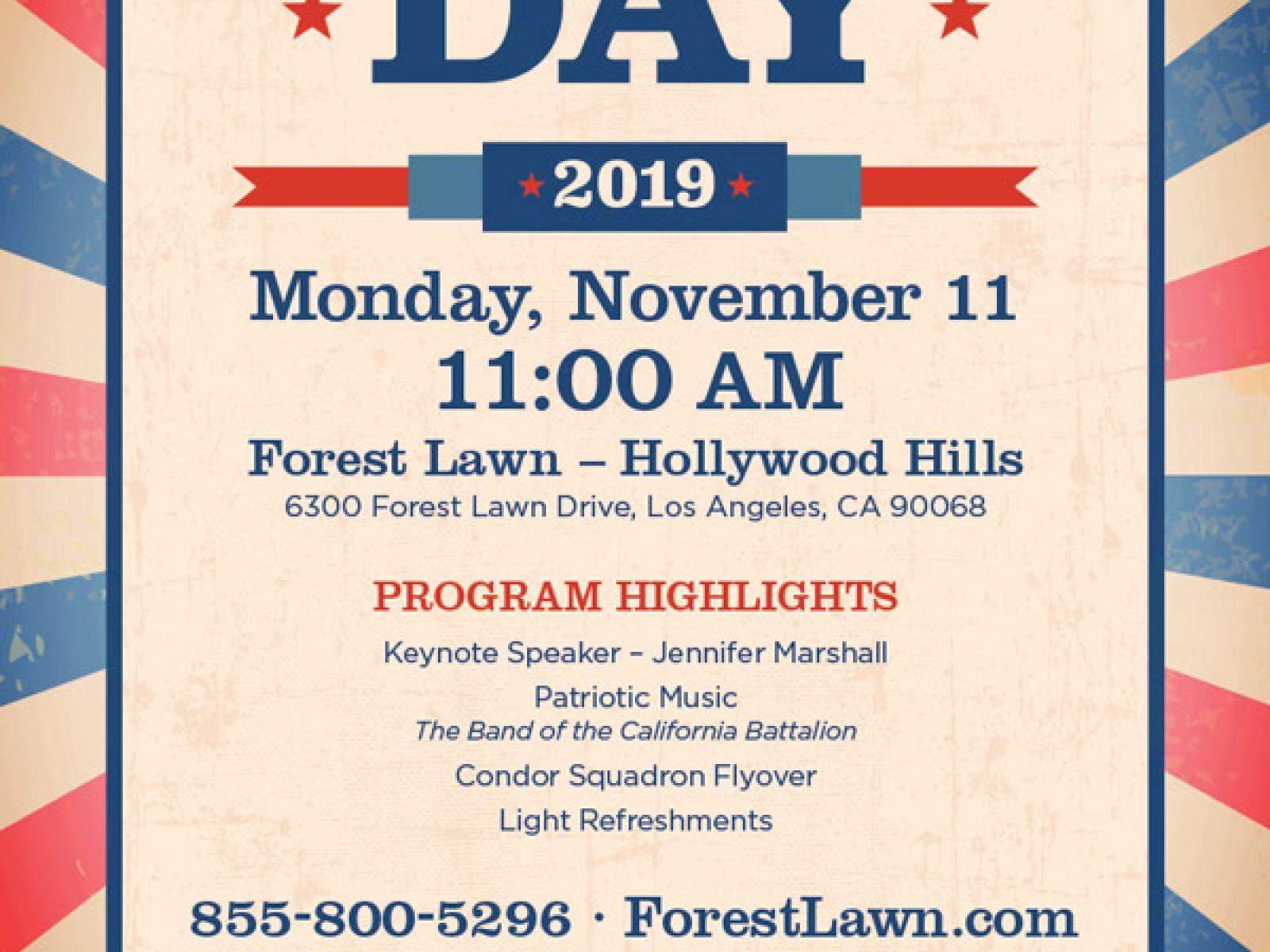 60th annual Veterans Day celebration