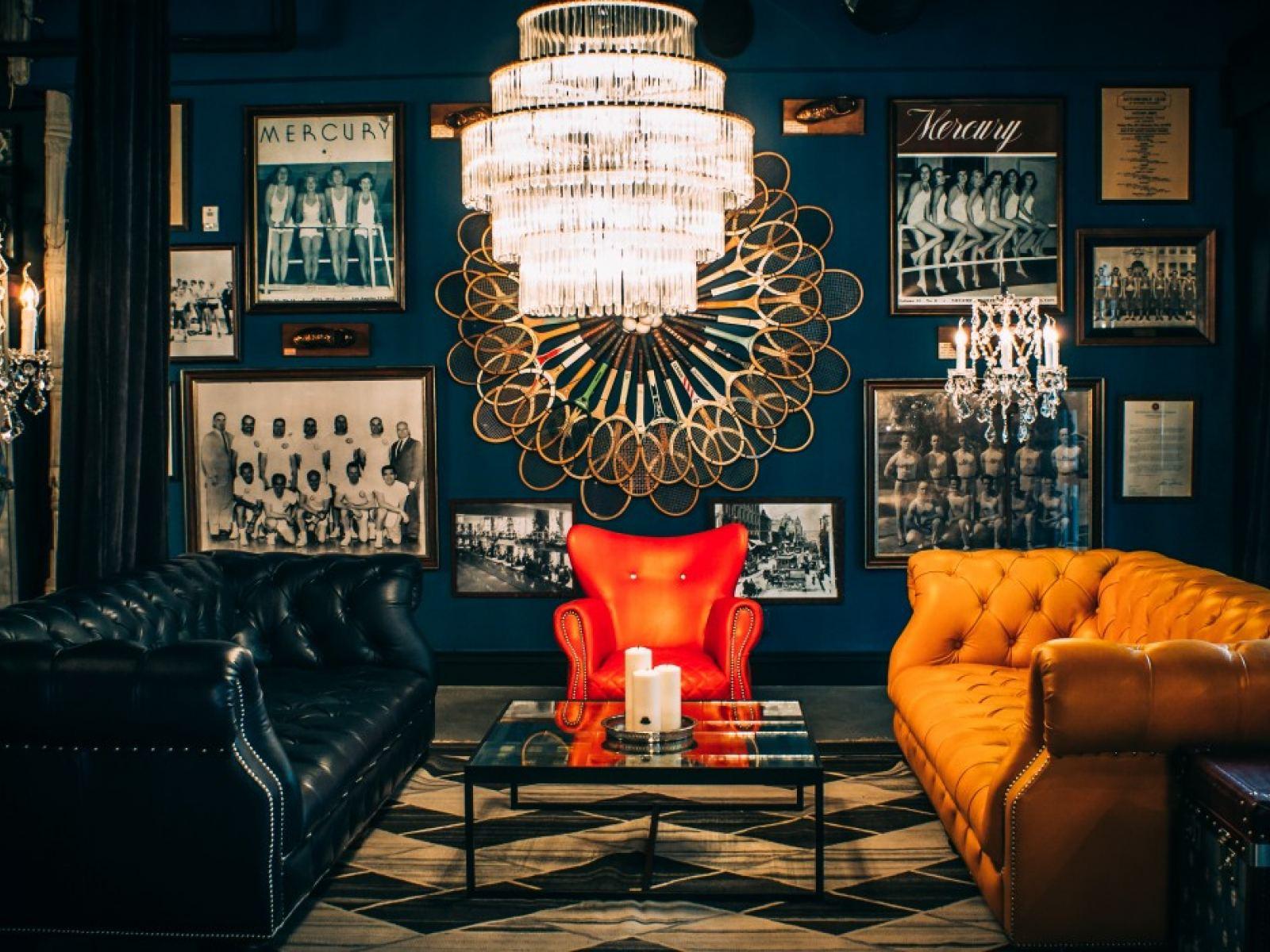 Blue Room at Los Angeles Athletic Club