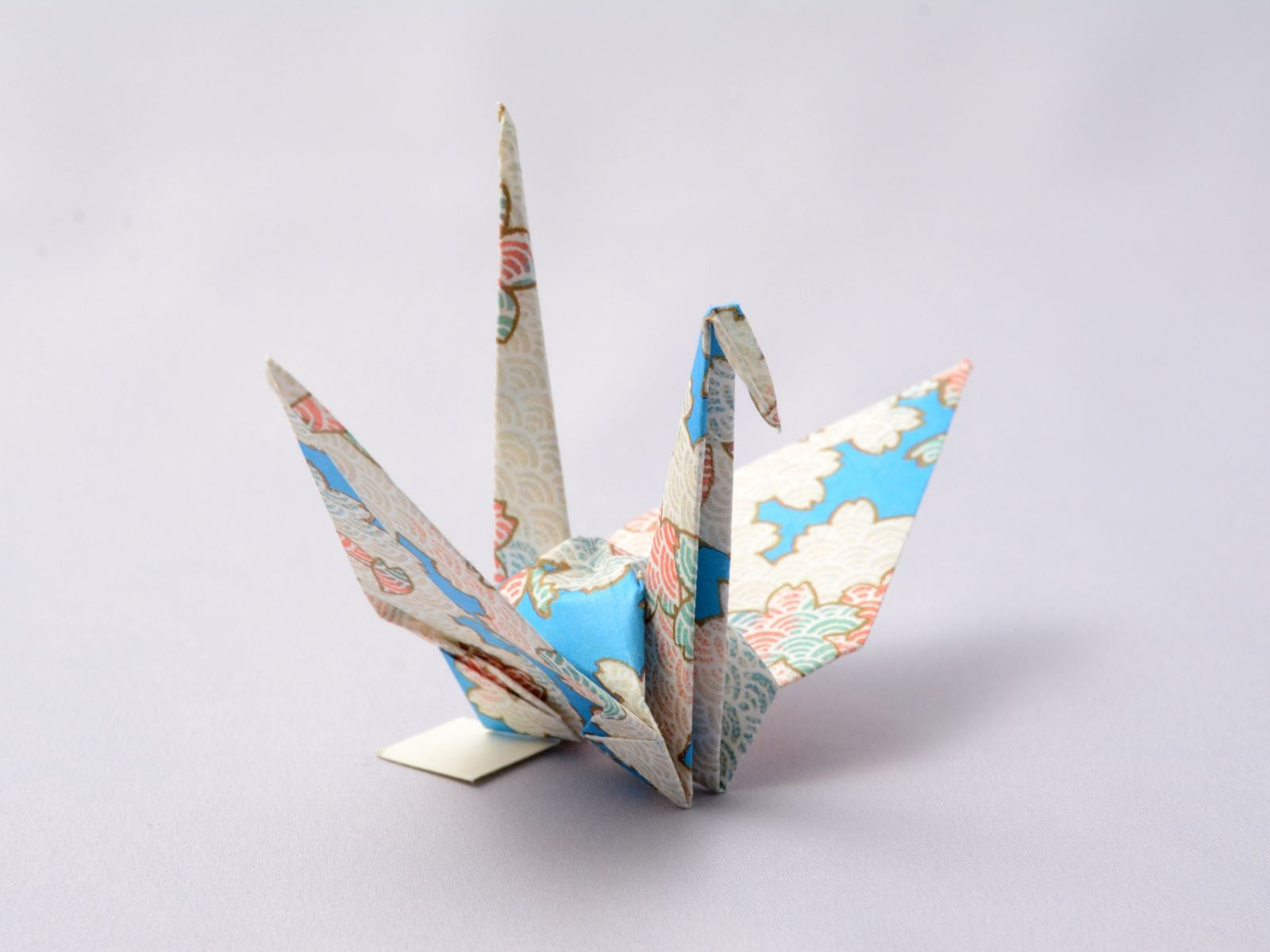 origami crane folded by President Barack Obama in 2016 while visiting the Hiroshima Peace Memorial Museum