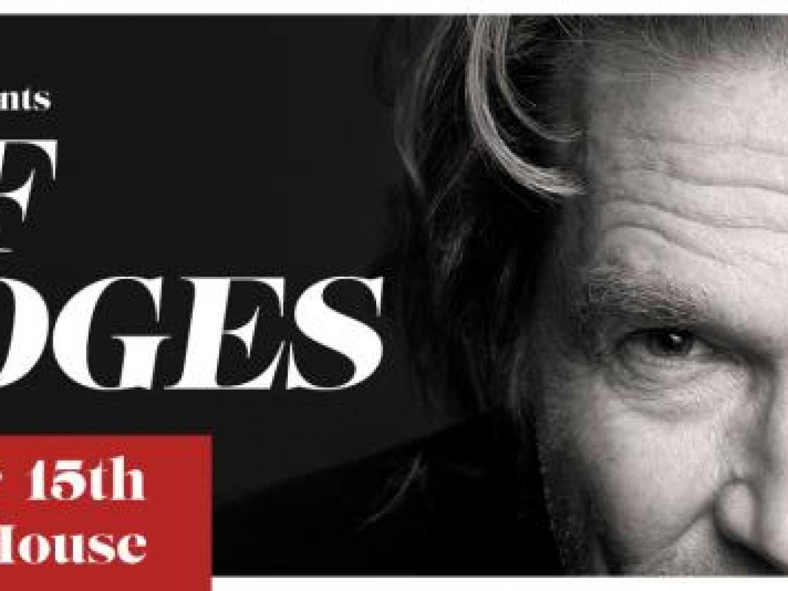 Main image for event titled Book Soup presents an Evening with Jeff Bridges