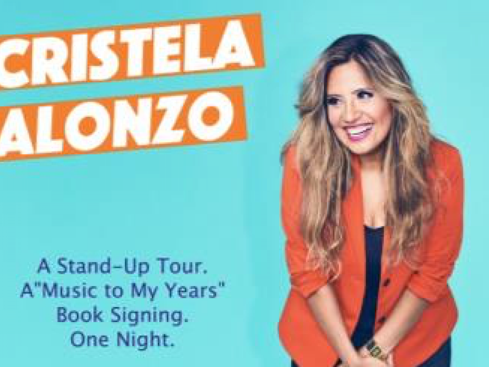 Main image for event titled CRISTELA ALONZO: MY AFFORDABLE CARE ACT