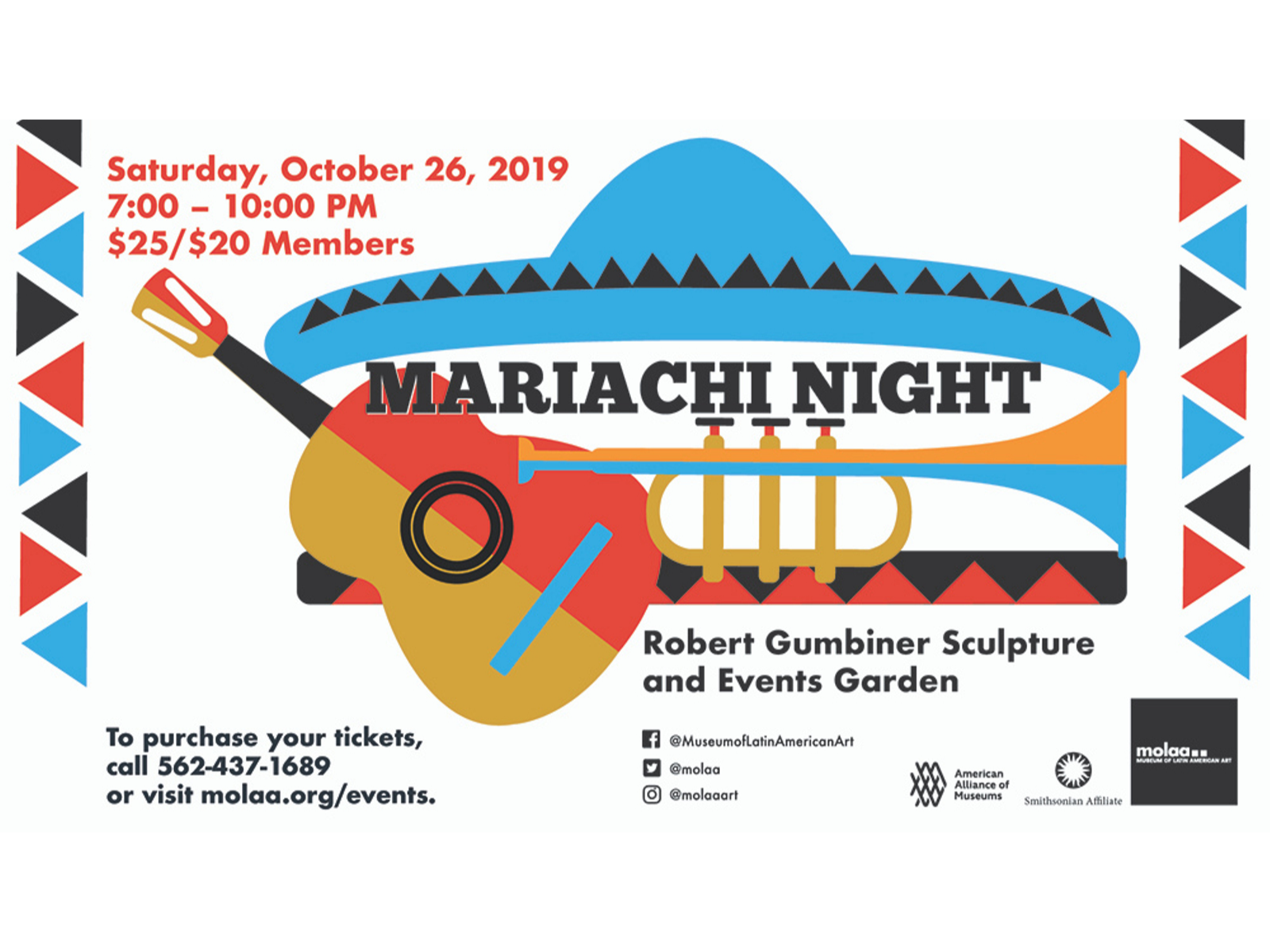 Main image for event titled Mariachi Night at MOLAA