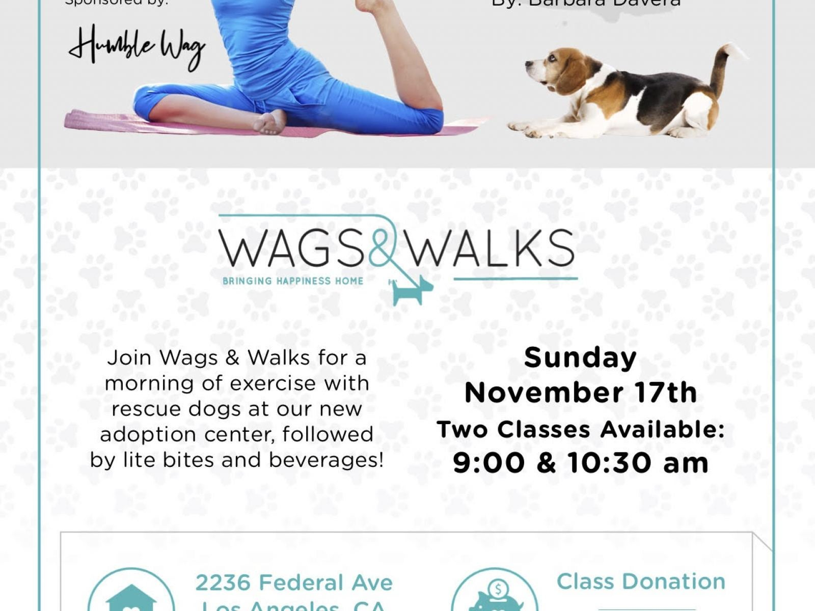 Event site: https://yogatotherescue.funraise.org