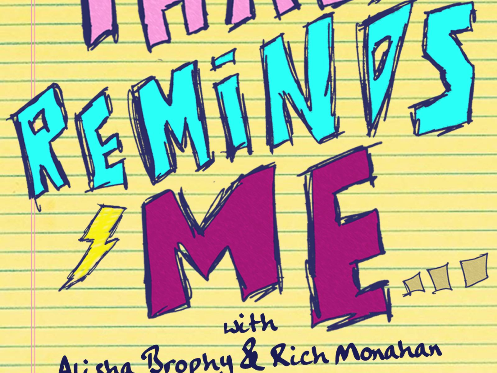 That Reminds Me - a comedic storytelling event at The Virgil Tues. Nov 19th