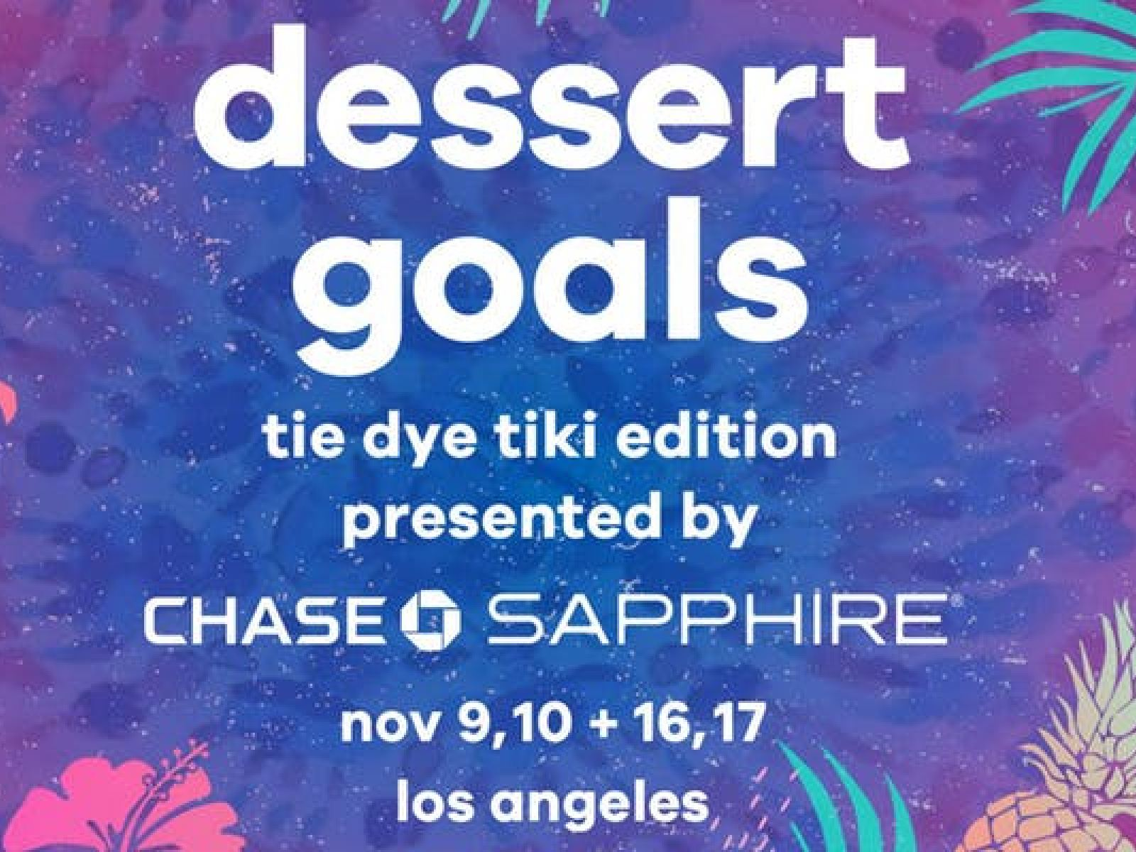 Main image for event titled Dessert Goals - Dessert Fest
