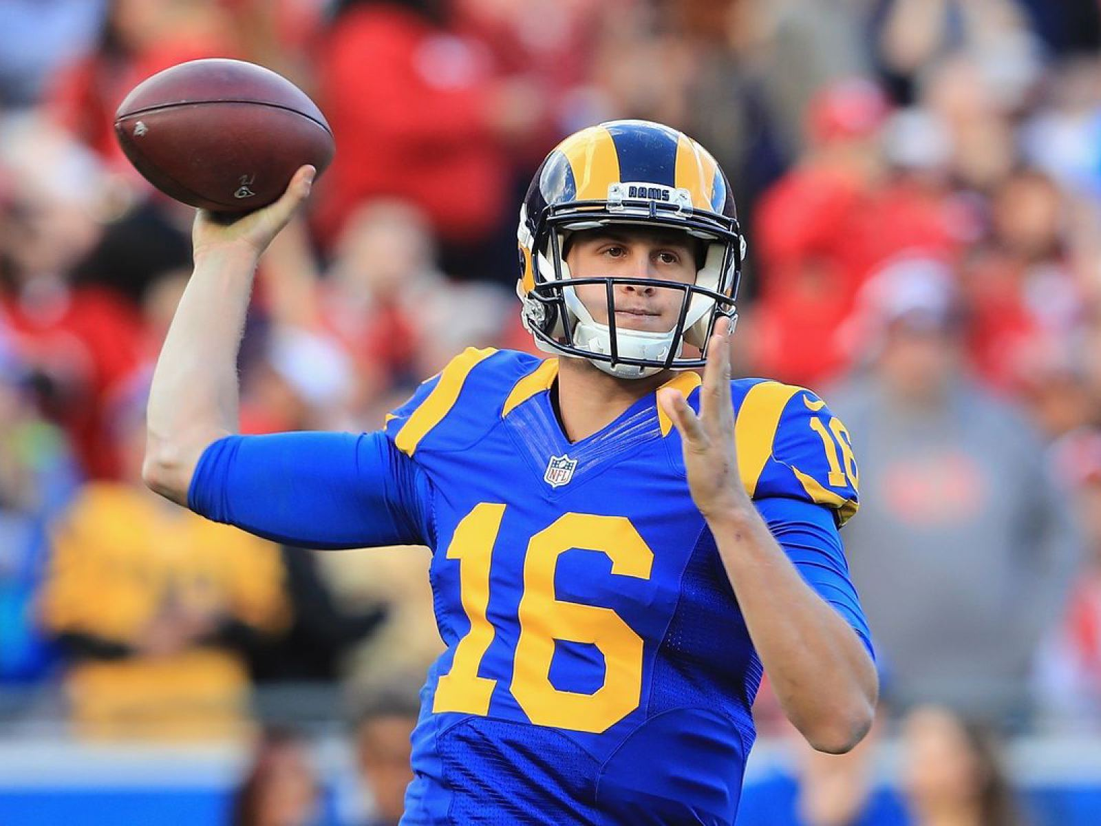 Main image for event titled Los Angeles Rams vs. Baltimore Ravens