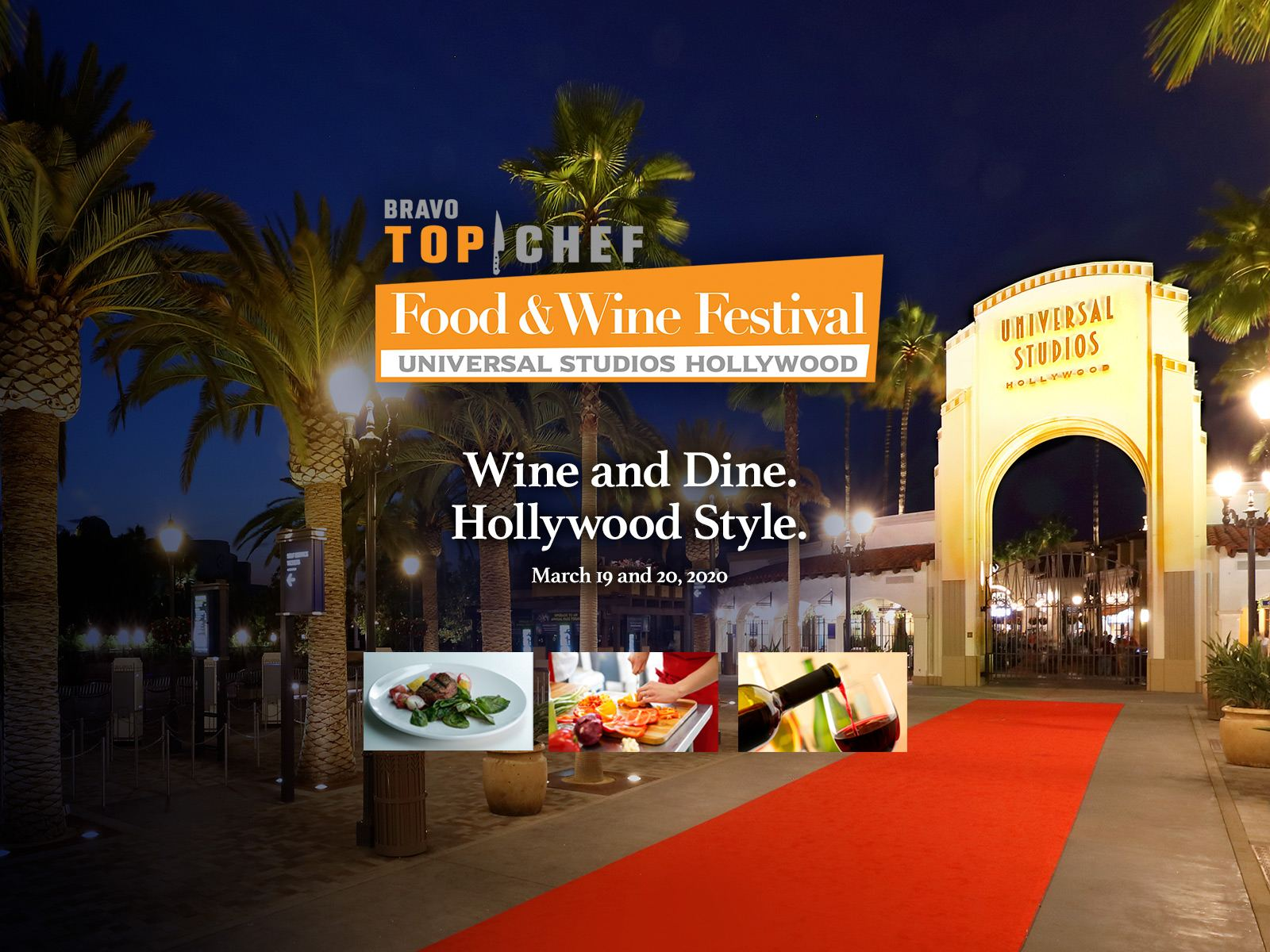 Main image for event titled Bravo's Top Chef Food & Wine Festival at Universal Studios Hollywood