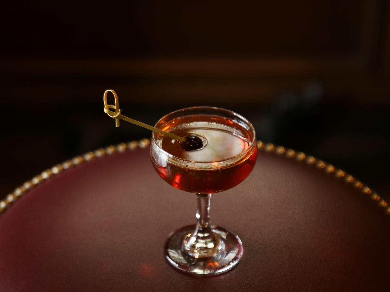Manhattan cocktail at Big Bar in Los Feliz