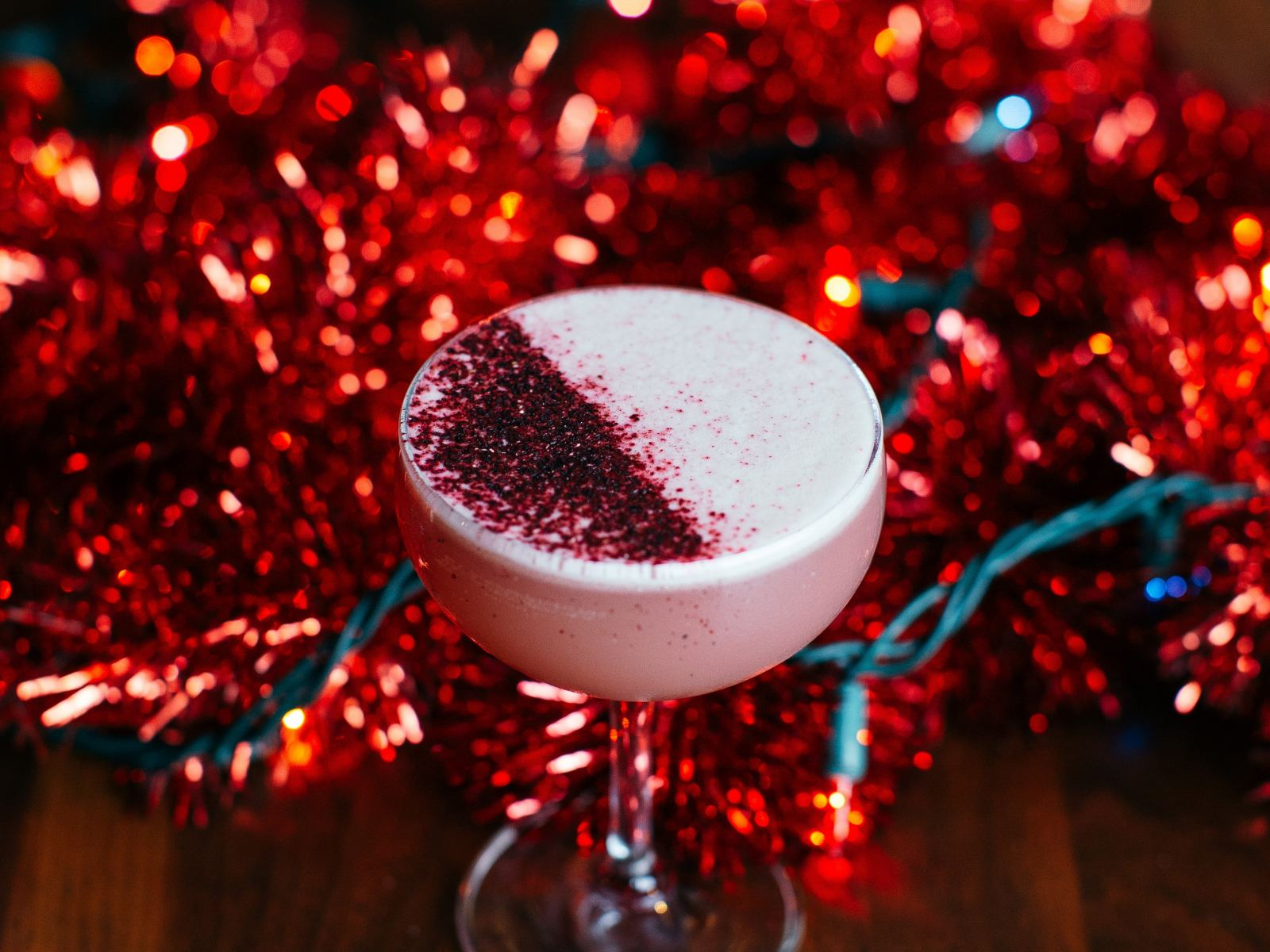Put On Your Yarmulke holiday cocktail at Blitzen's in the Arts District