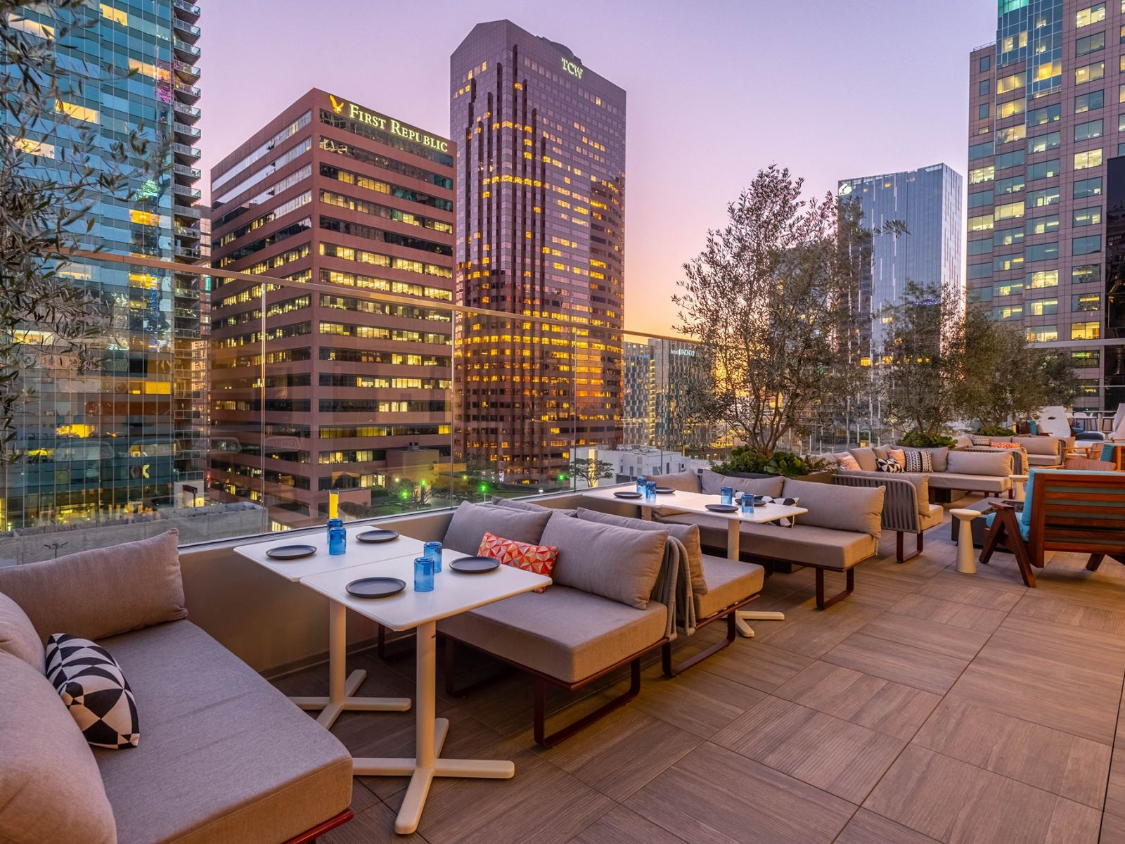 The Rooftop at The Wayfarer in Downtown LA