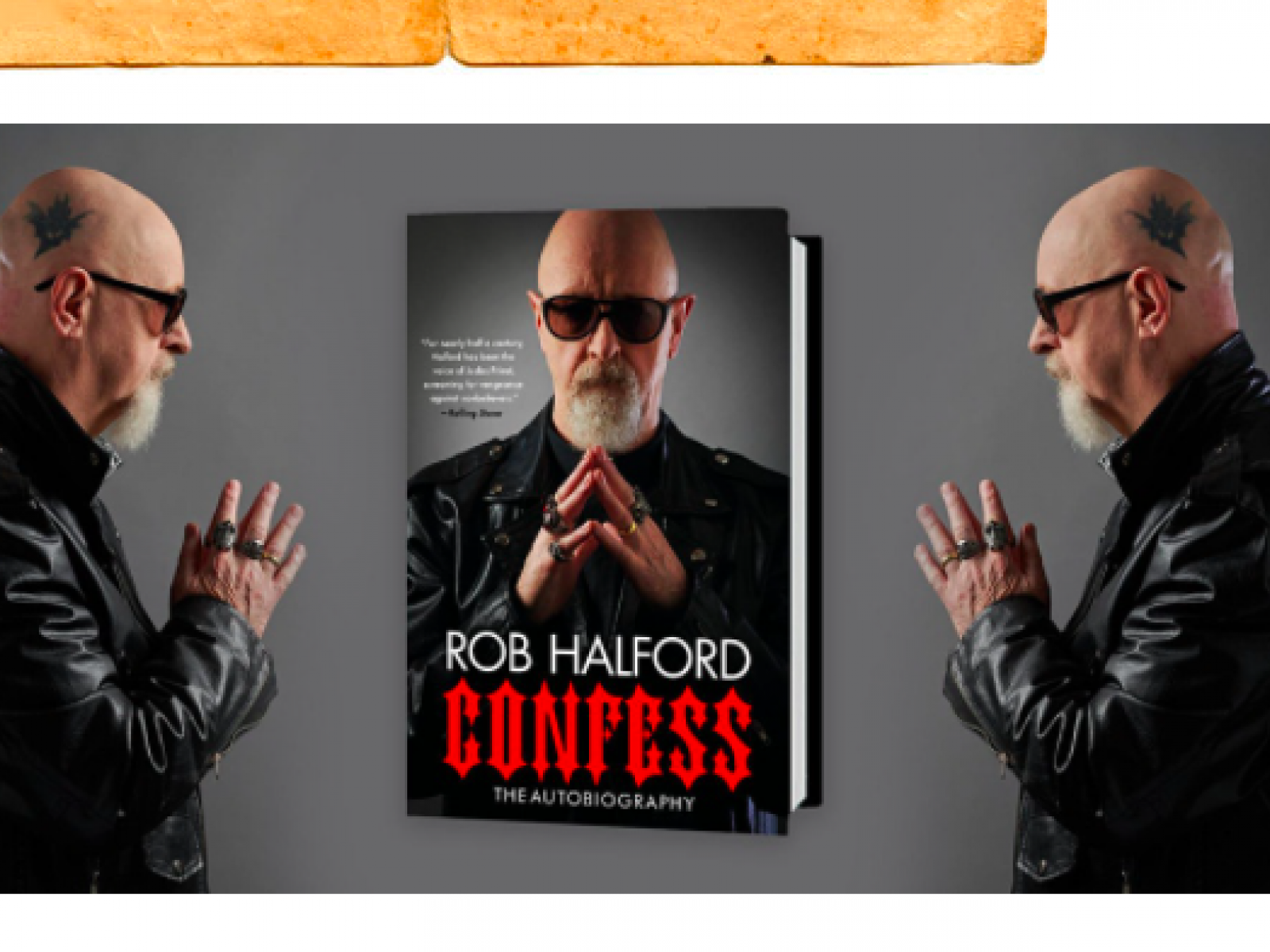 Main image for event titled Book Soup presents Judas Priest's Rob Halford