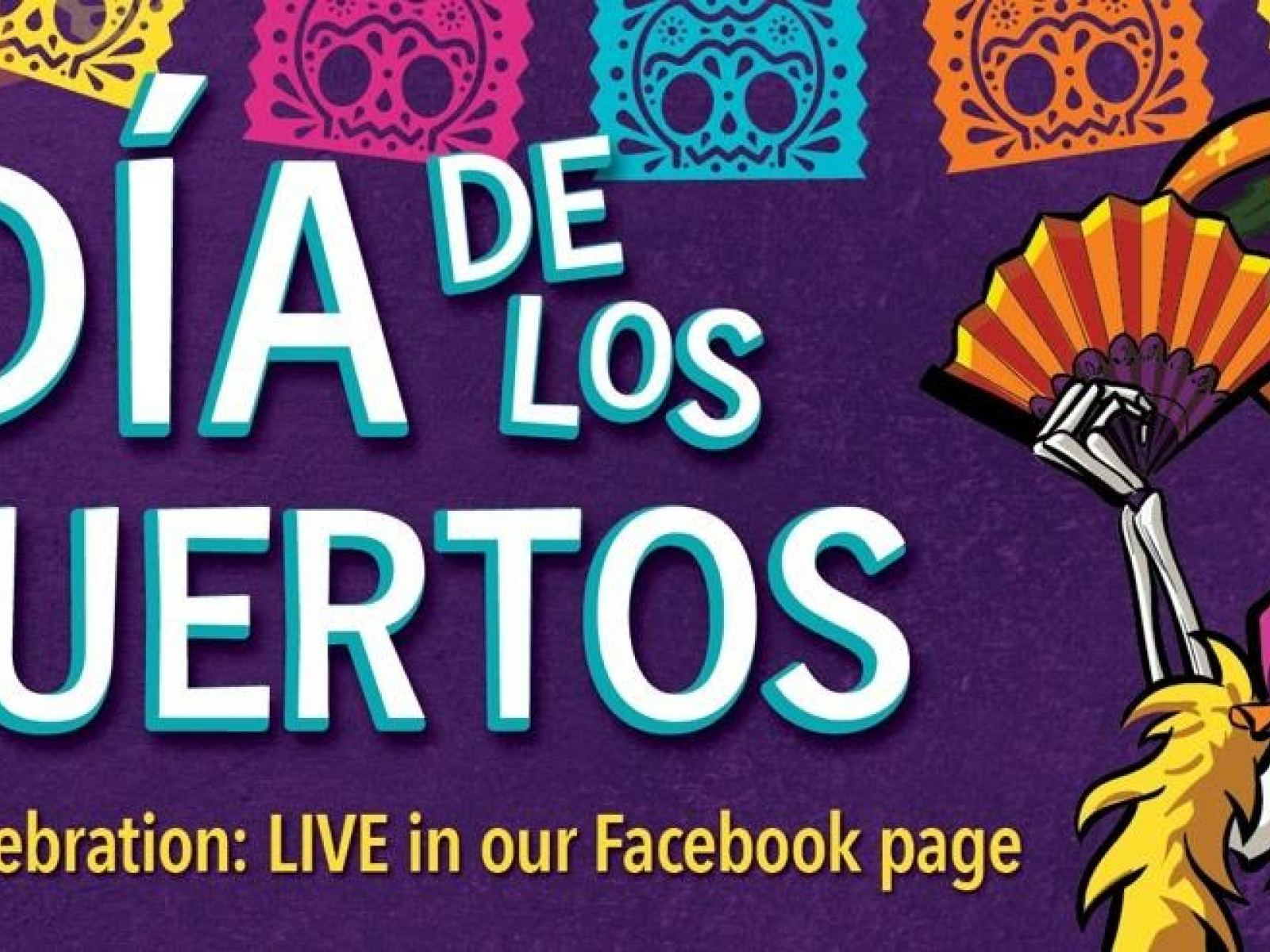 Main image for event titled Día de los Muertos at Forest Lawn Goes Virtual