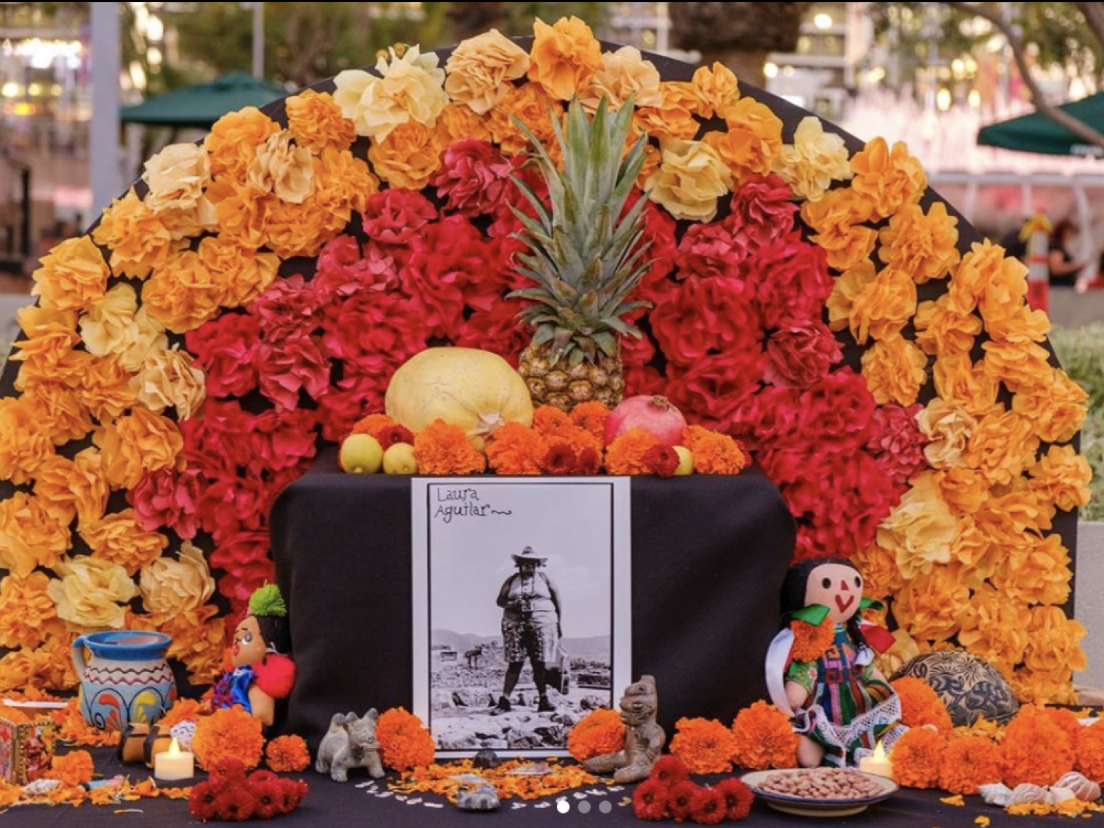 Main image for event titled Grand Park's Día de los Muertos Community Altars and Audio Tours (OPENING DAY)