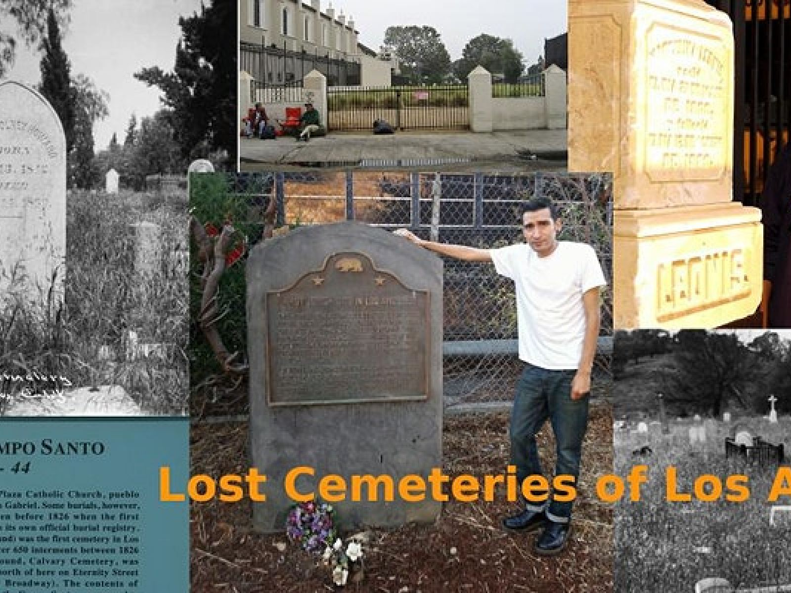 Main image for event titled Lost Cemeteries of Los Angeles (URBAN HIKE)