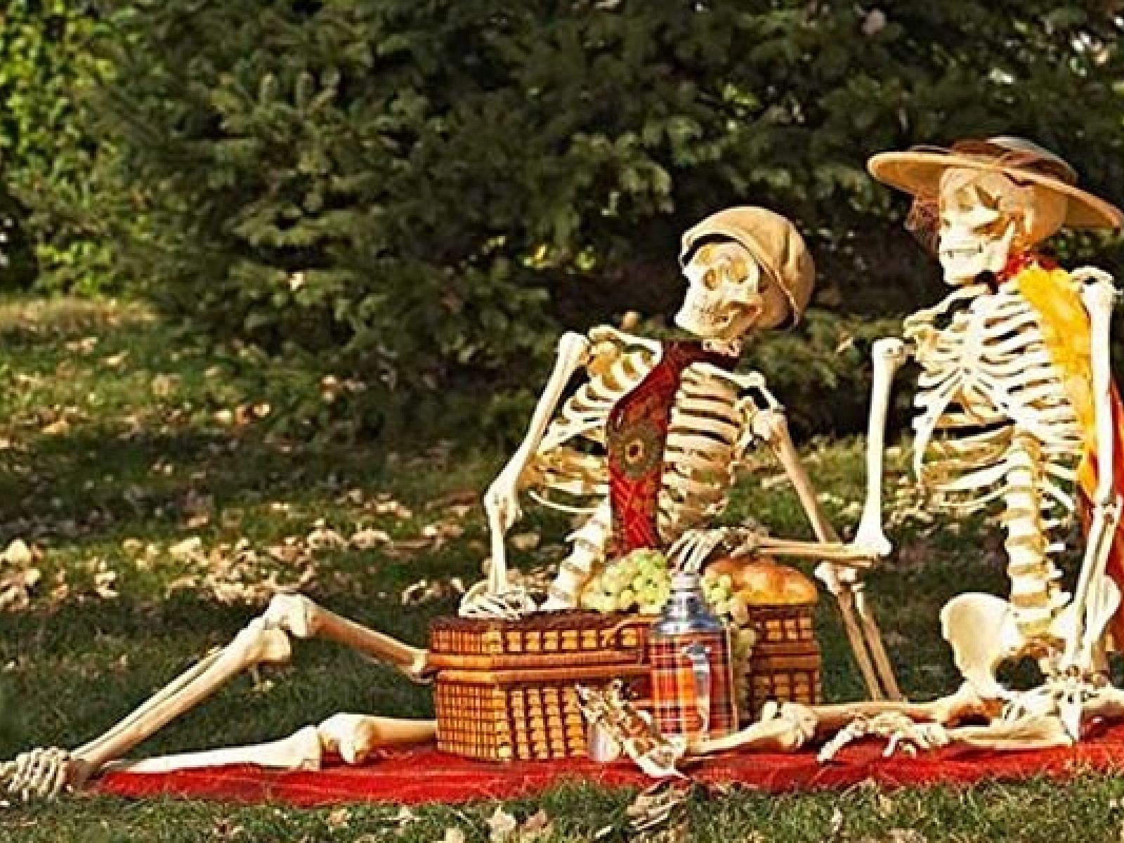 Main image for event titled Halloween Night Picnic at Heritage Square Museum